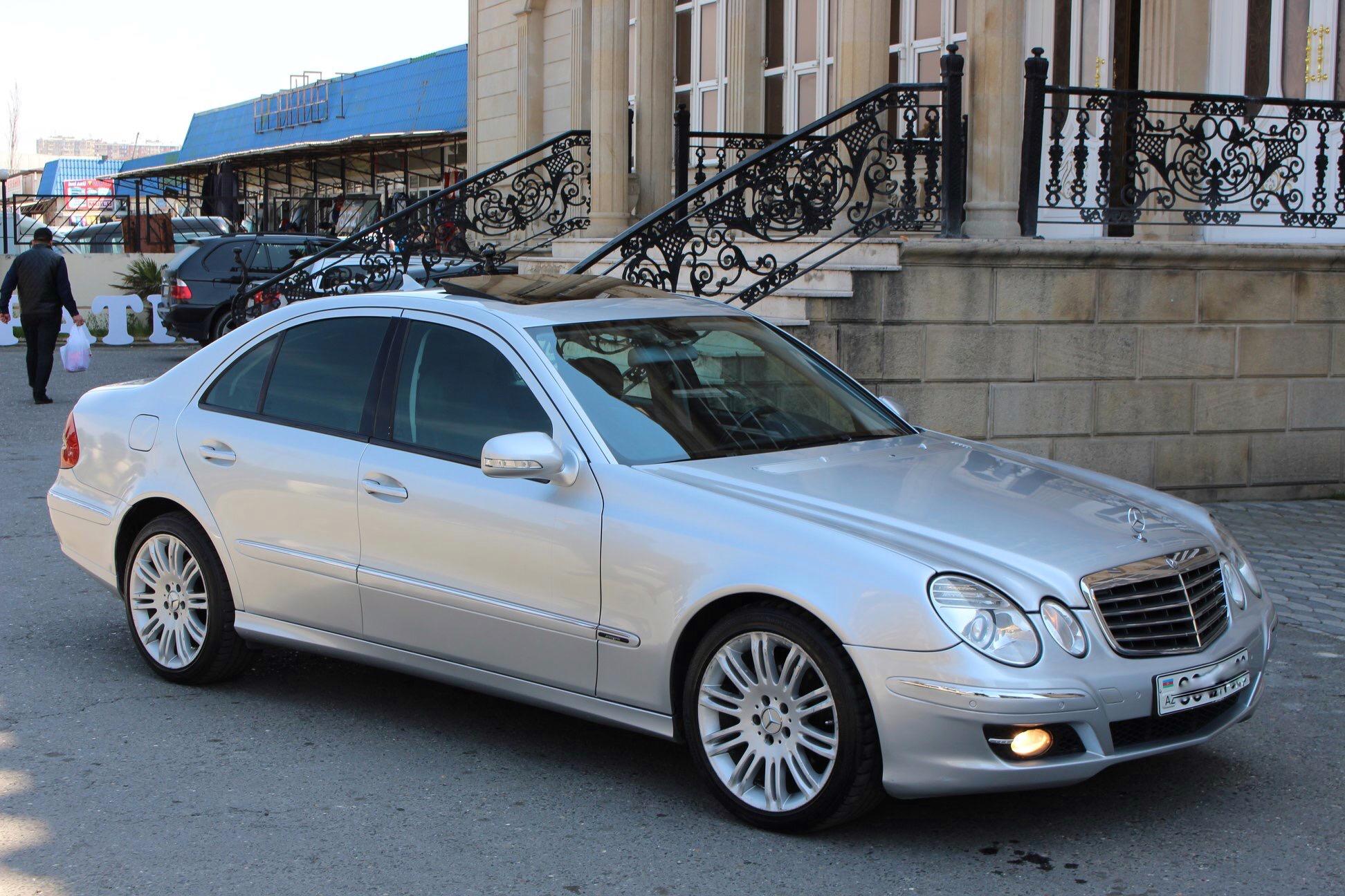 Mercedes-Benz E 220 2.2(lt) 2007 İkinci əl  $13200