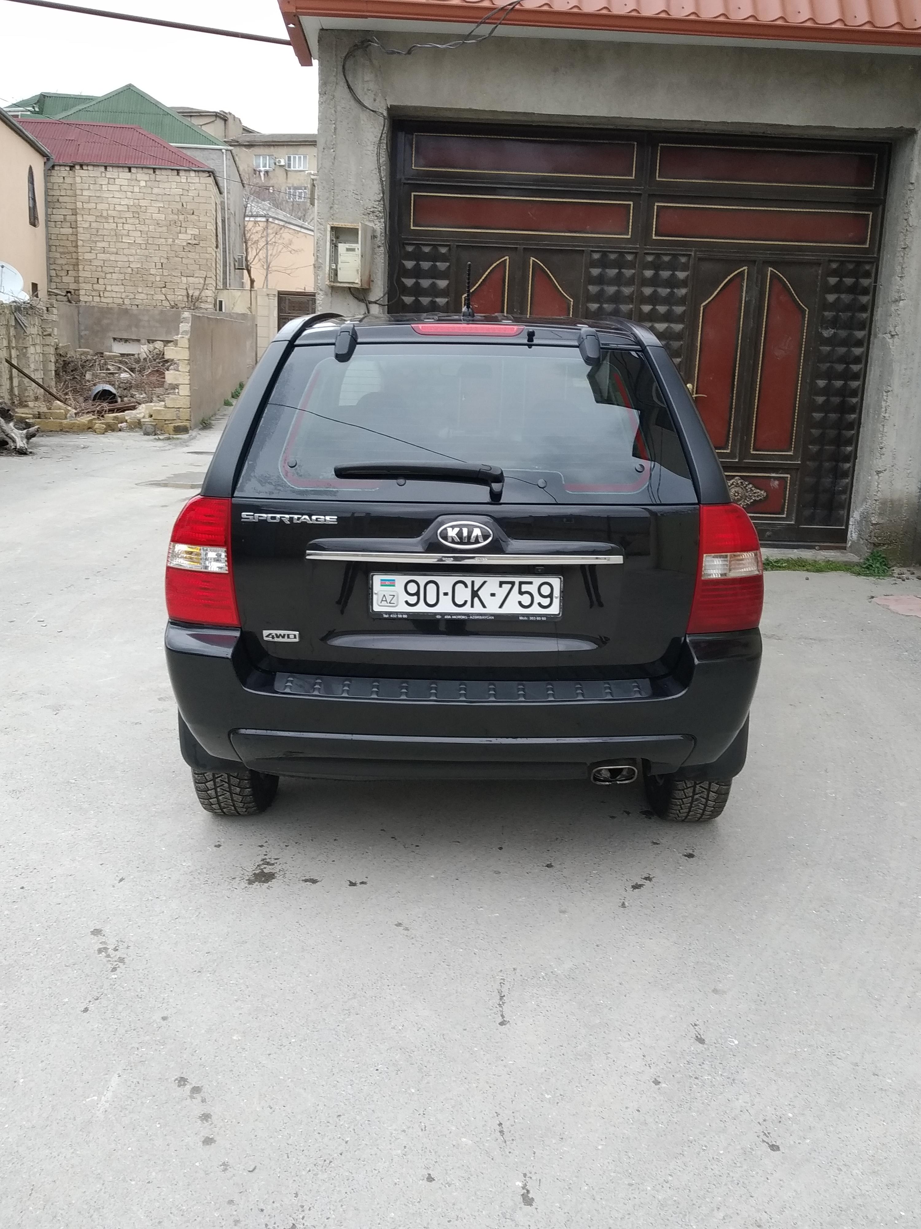 Kia Sportage 2.0(lt) 2008 Подержанный  $15300
