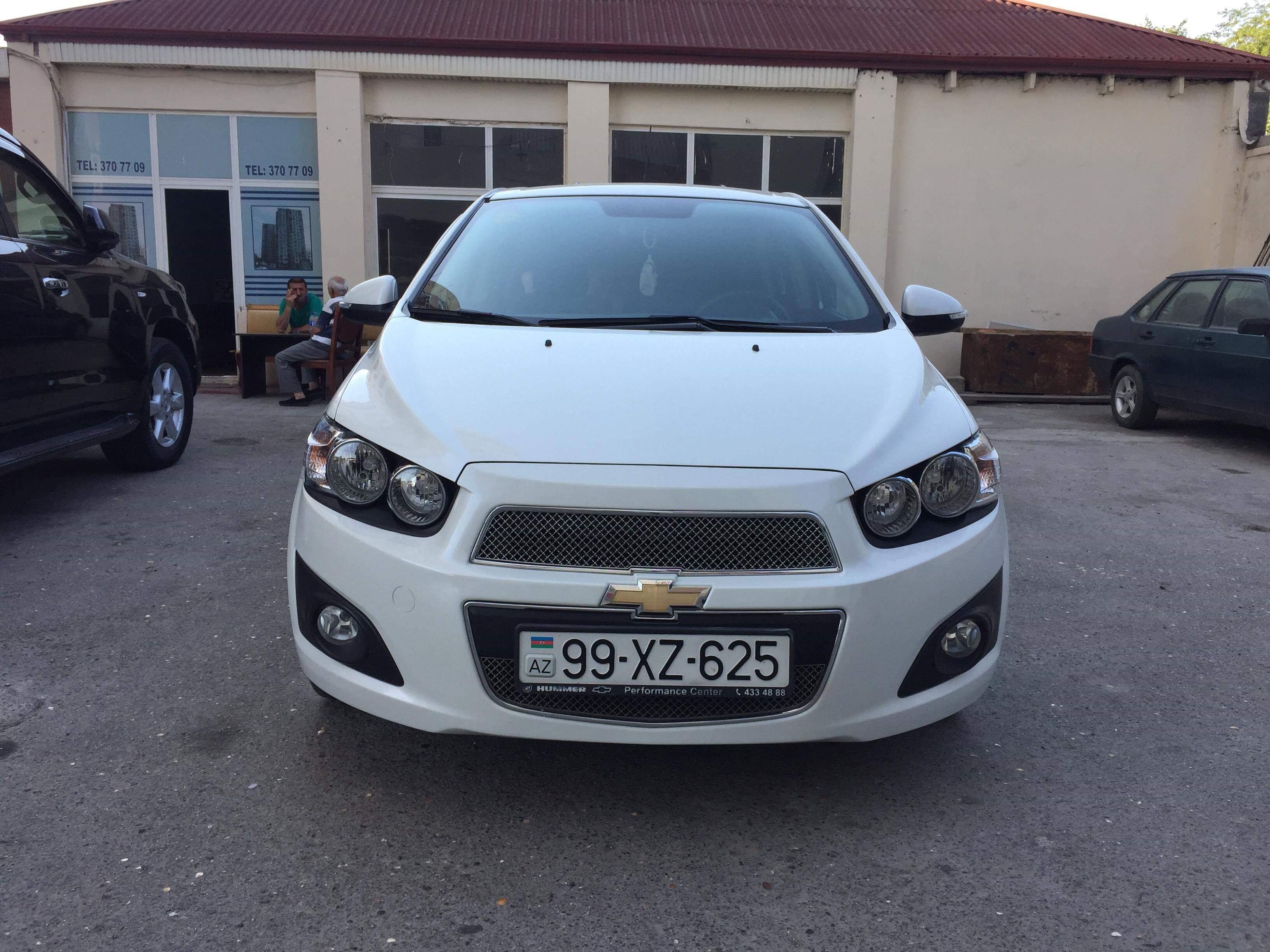Chevrolet Aveo 1.6(lt) 2014 Подержанный  $12000