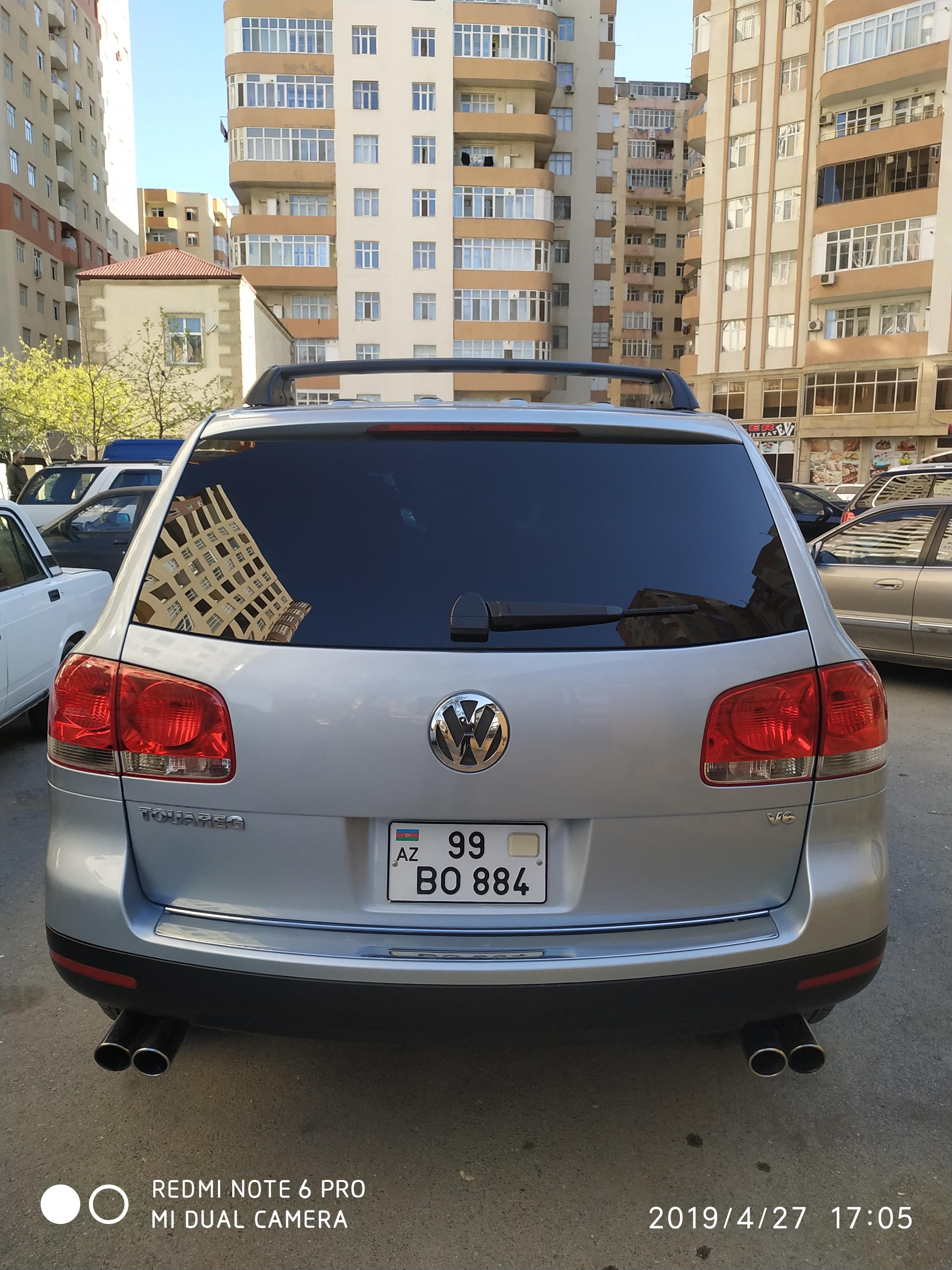 Volkswagen Touareg 3.2(lt) 2004 Подержанный  $9000