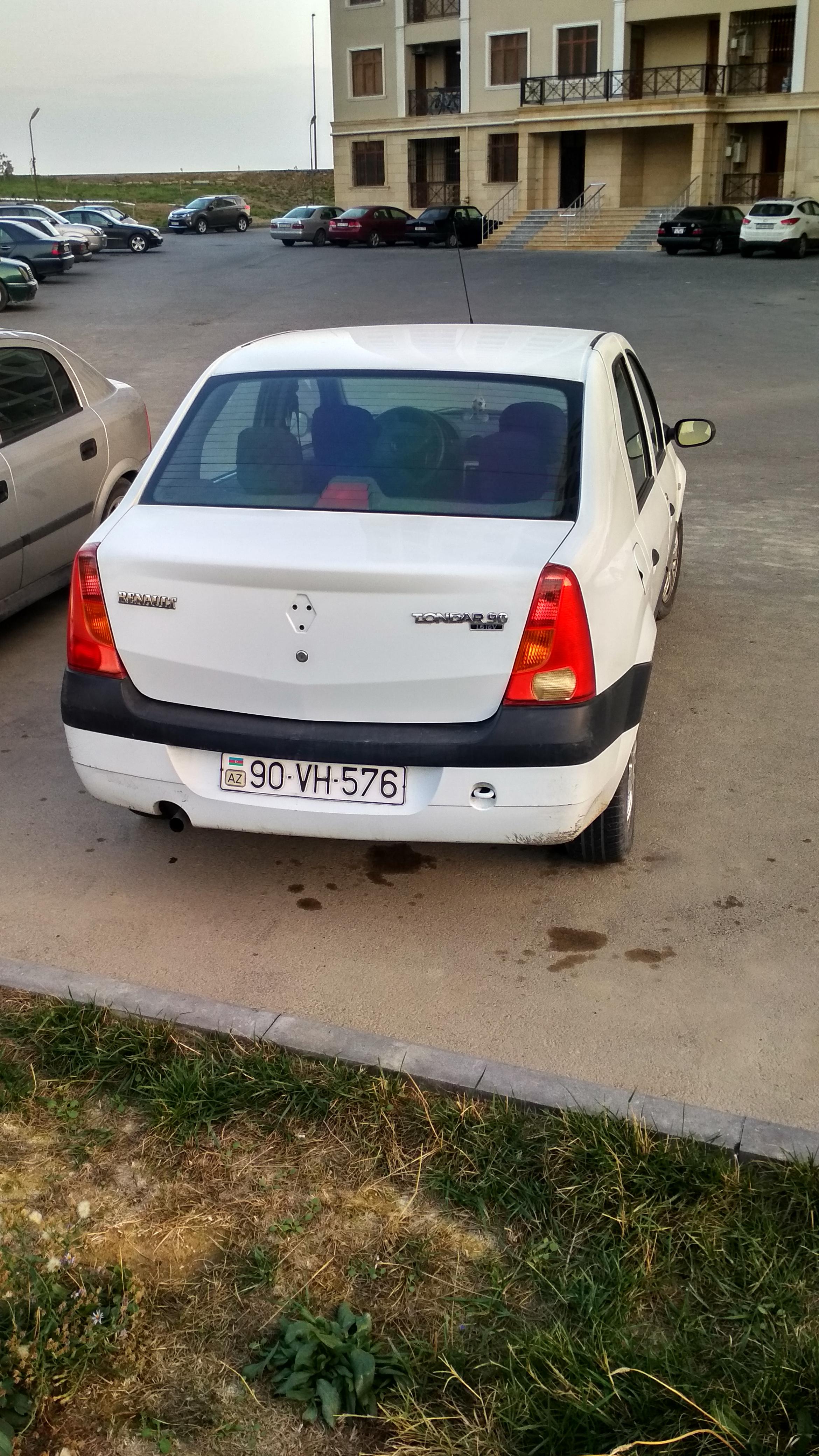 Renault Tondar 1.6(lt) 2012 Подержанный  $8300