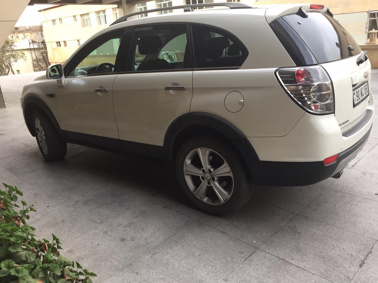 Chevrolet Captiva 3.0(lt) 2012 Подержанный  $16500