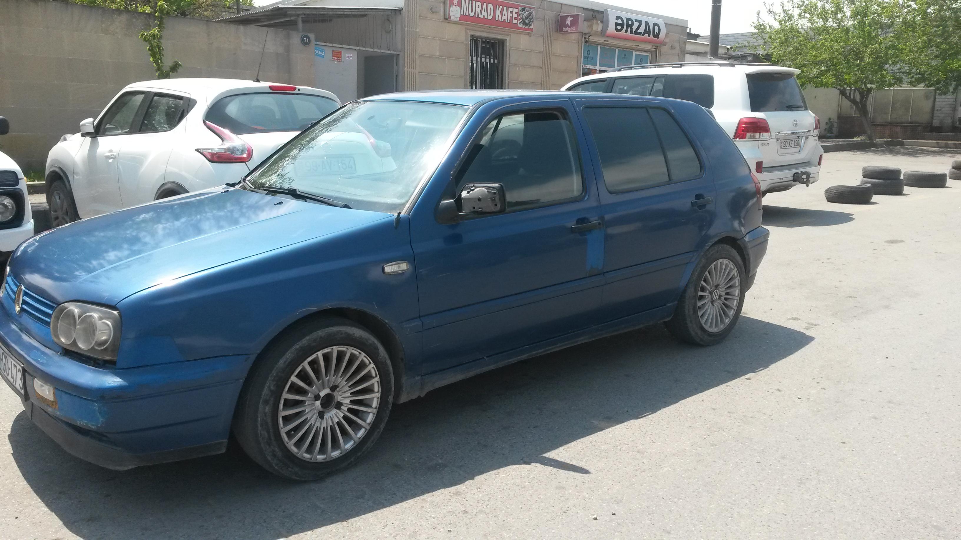 Volkswagen Golf 2.0(lt) 1995 Подержанный  $3300