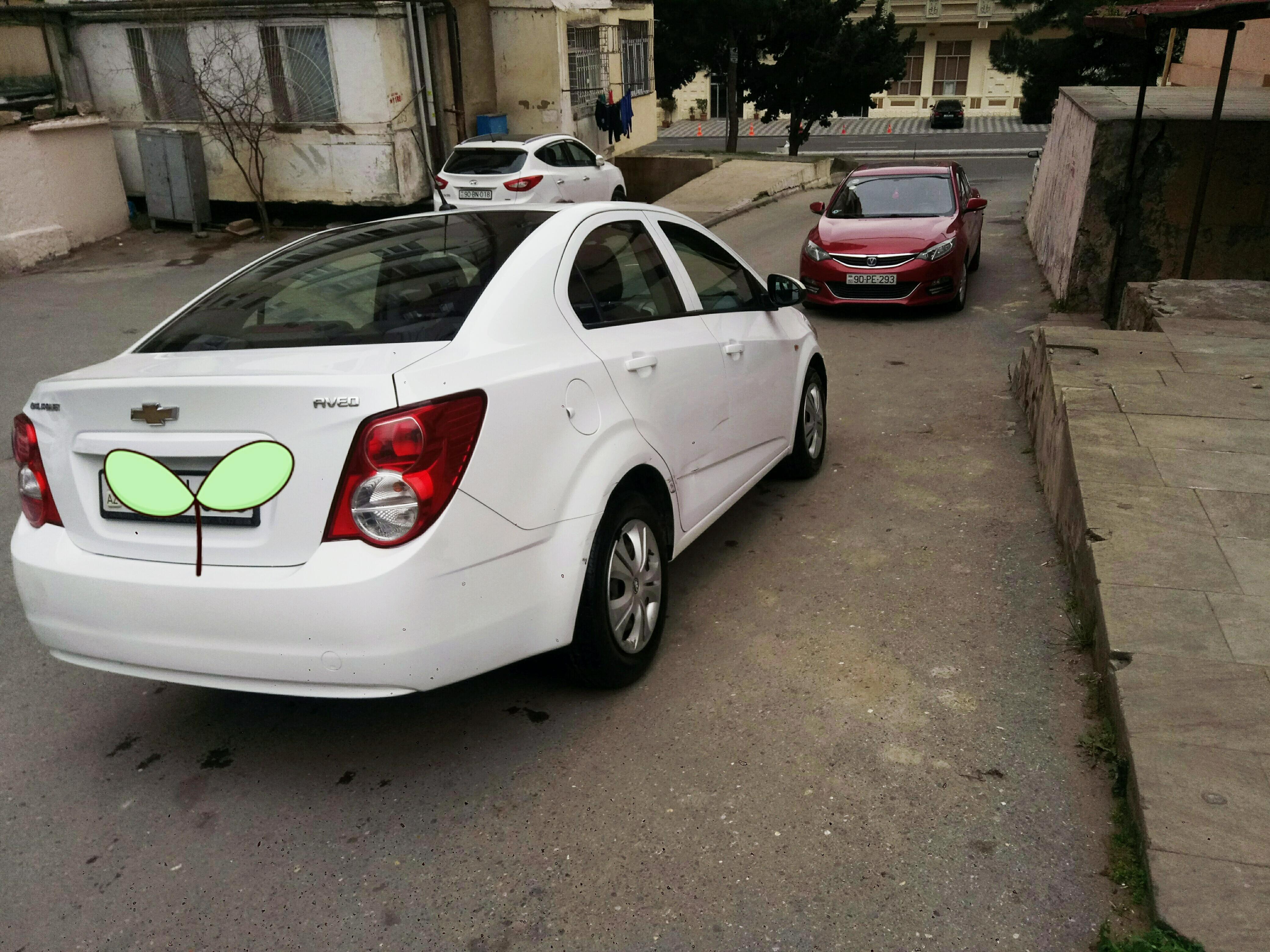Chevrolet Aveo 1.4(lt) 2012 Подержанный  $6850