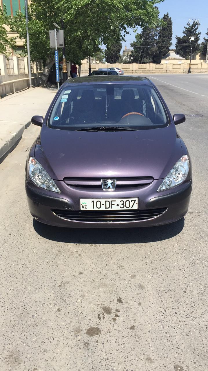 Peugeot 307 2.0(lt) 2002 İkinci əl  $7200
