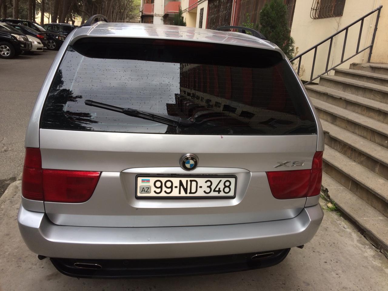 BMW X5 3.0(lt) 2001 İkinci əl  $15000