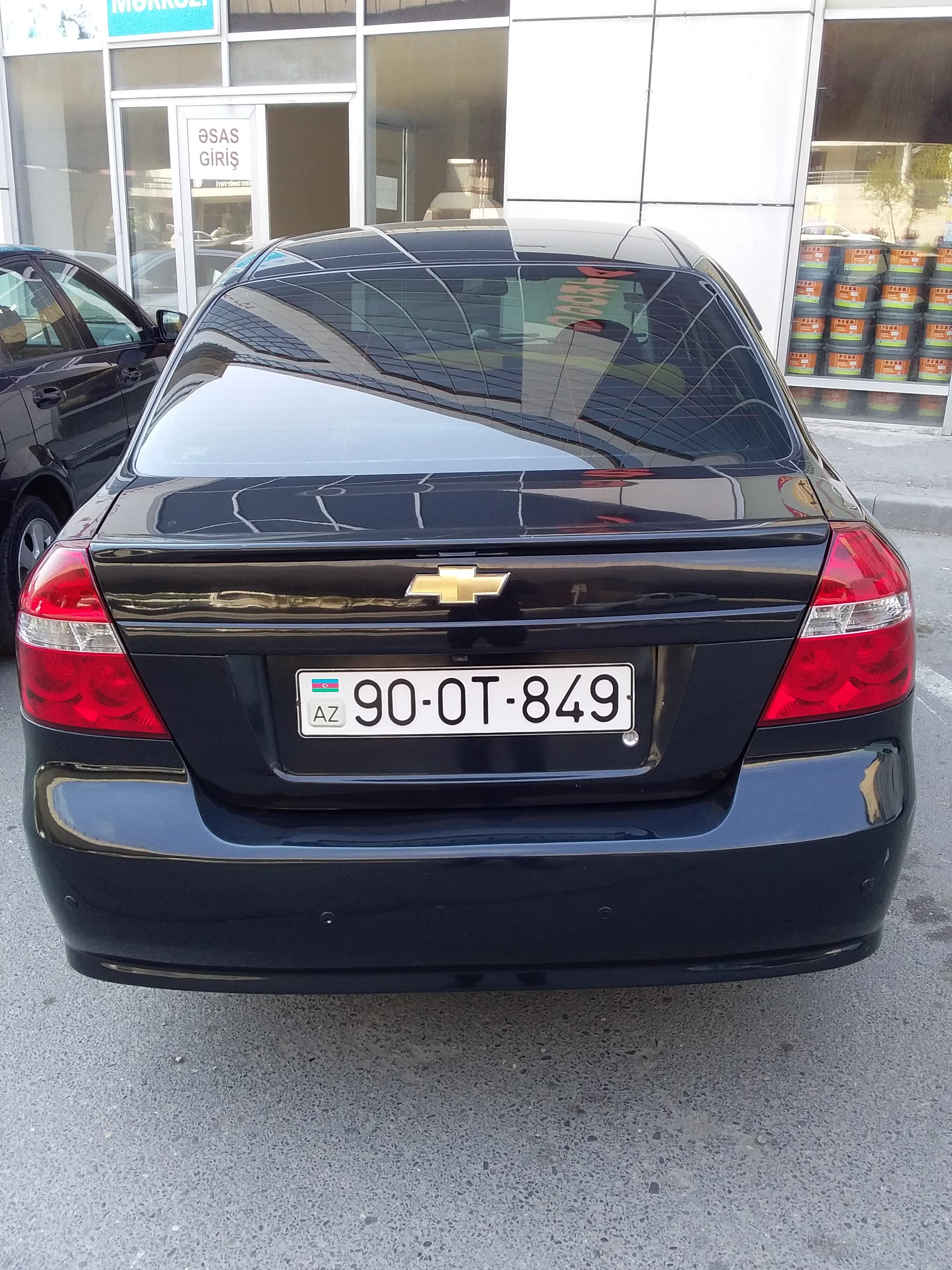 Chevrolet Aveo 1.4(lt) 2011 Подержанный  $9500