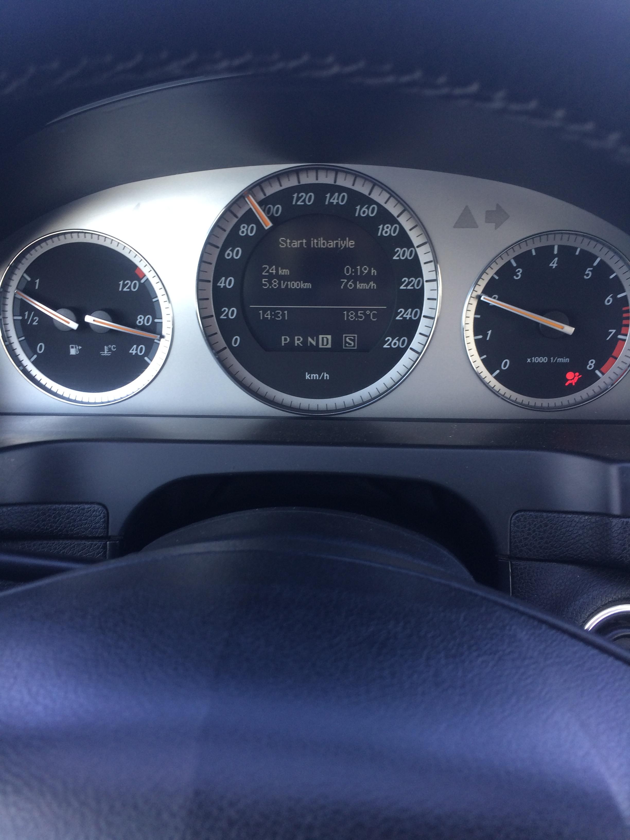 Mercedes-Benz C 180 1.8(lt) 2008 Подержанный  $12600