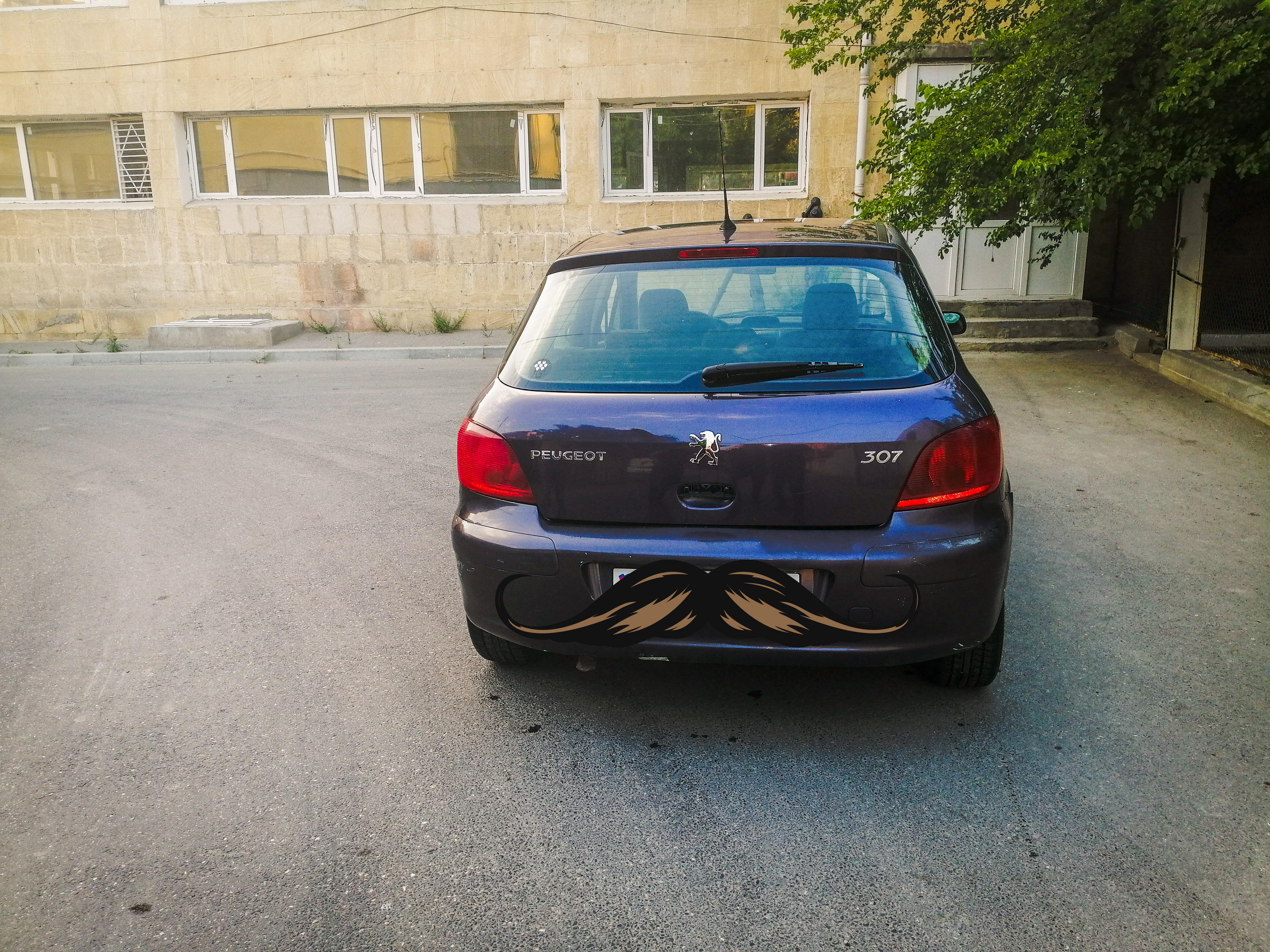 Peugeot 307 2.0(lt) 2002 İkinci əl  $2800