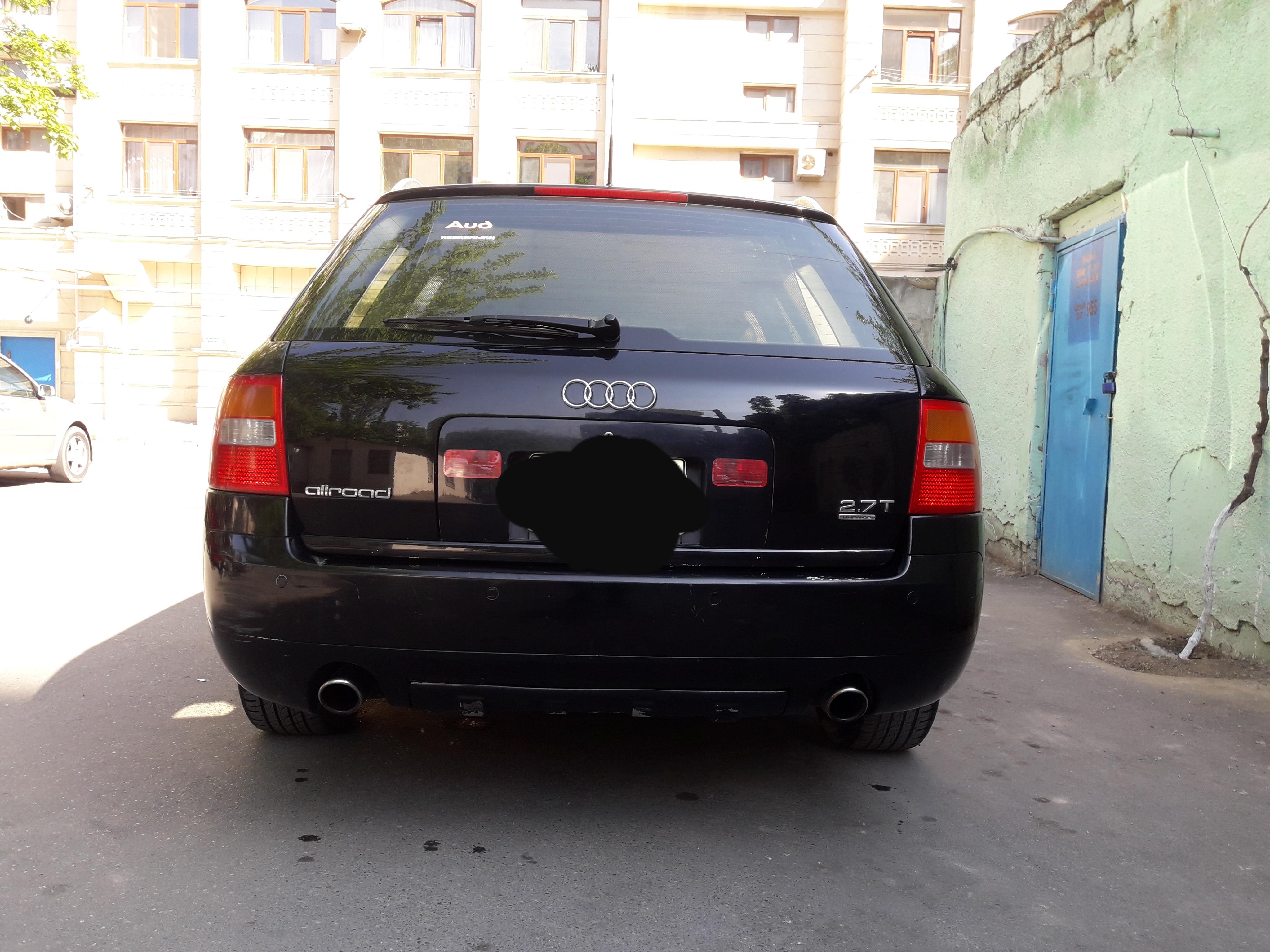 Audi A6 Allroad 2.7(lt) 2003 Подержанный  $8200