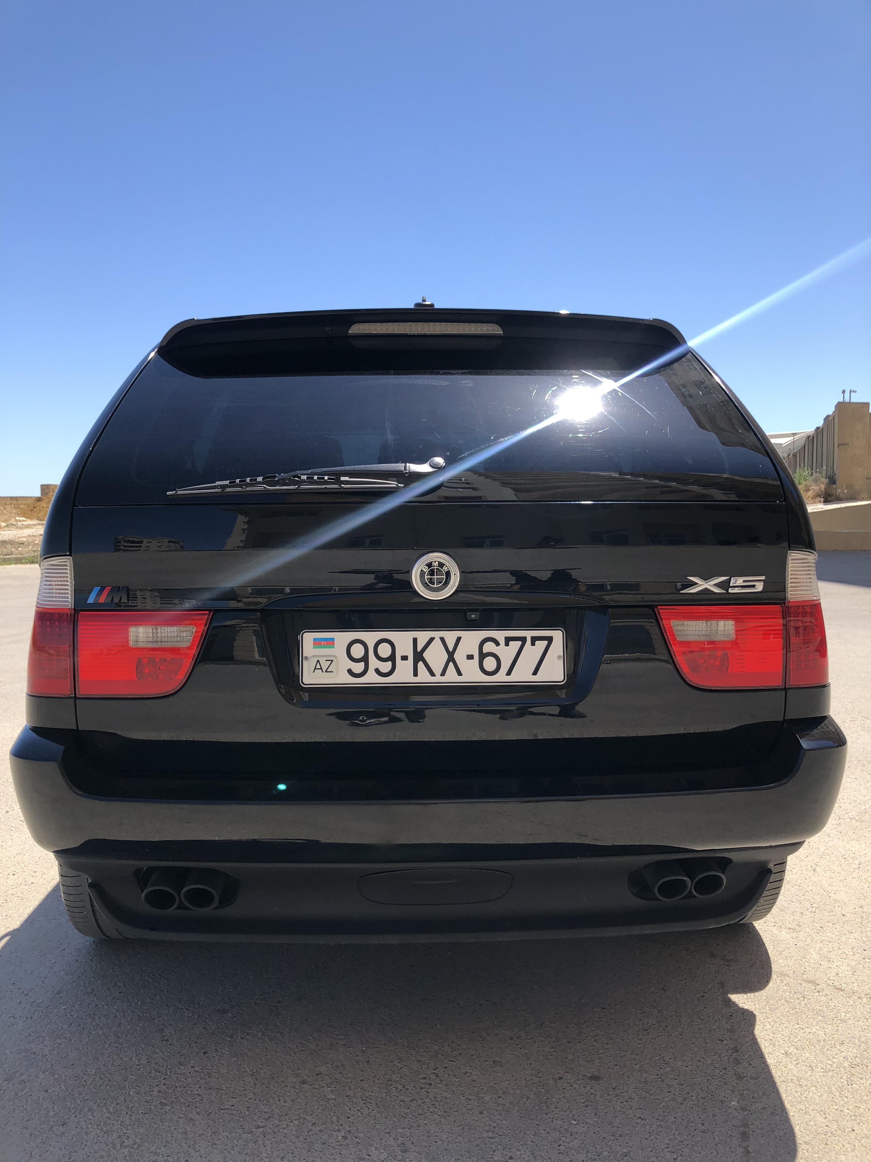 BMW X5 4.4(lt) 2001 Подержанный  $16500
