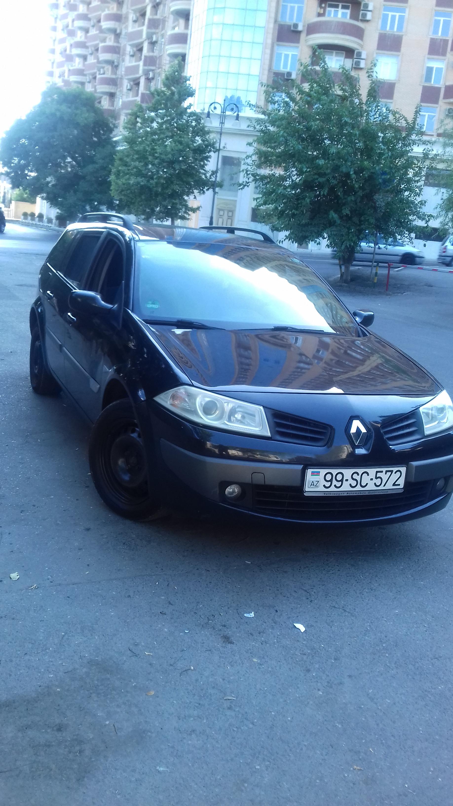 Renault Megane 1.5(lt) 2006 Подержанный  $10500