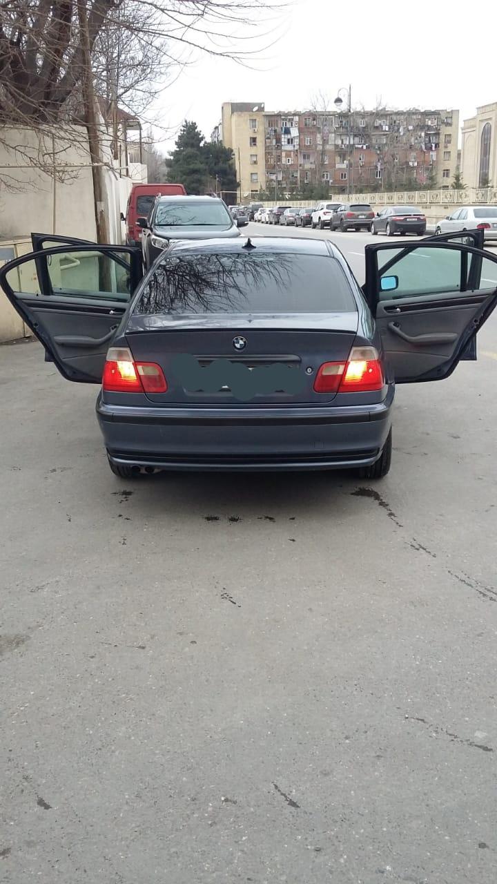 BMW 3-cü Seriya (Hamısı) 2.5(lt) 1999 Подержанный  $9800