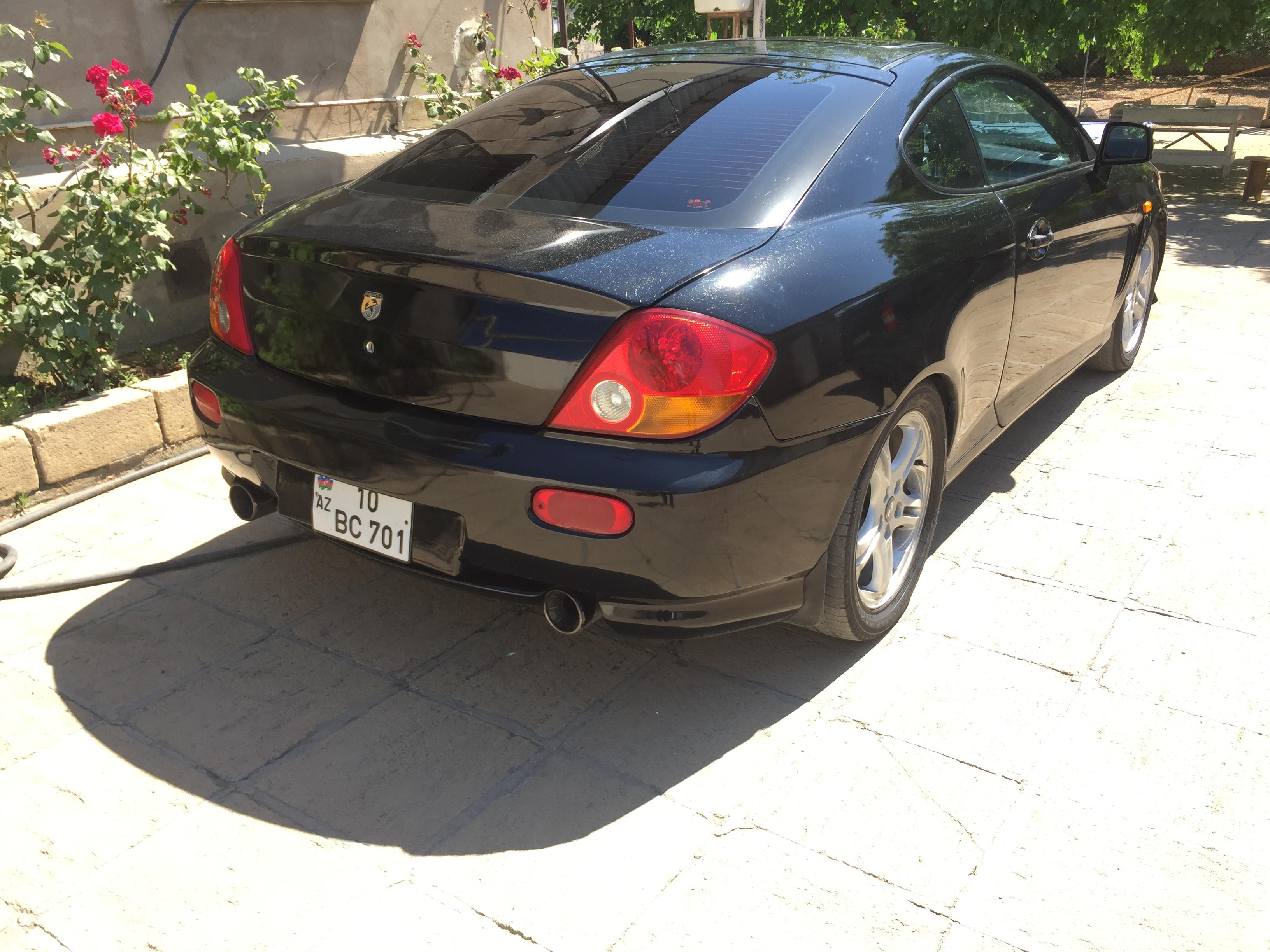 Hyundai Coupe 2.5(lt) 2004 İkinci əl  $8500