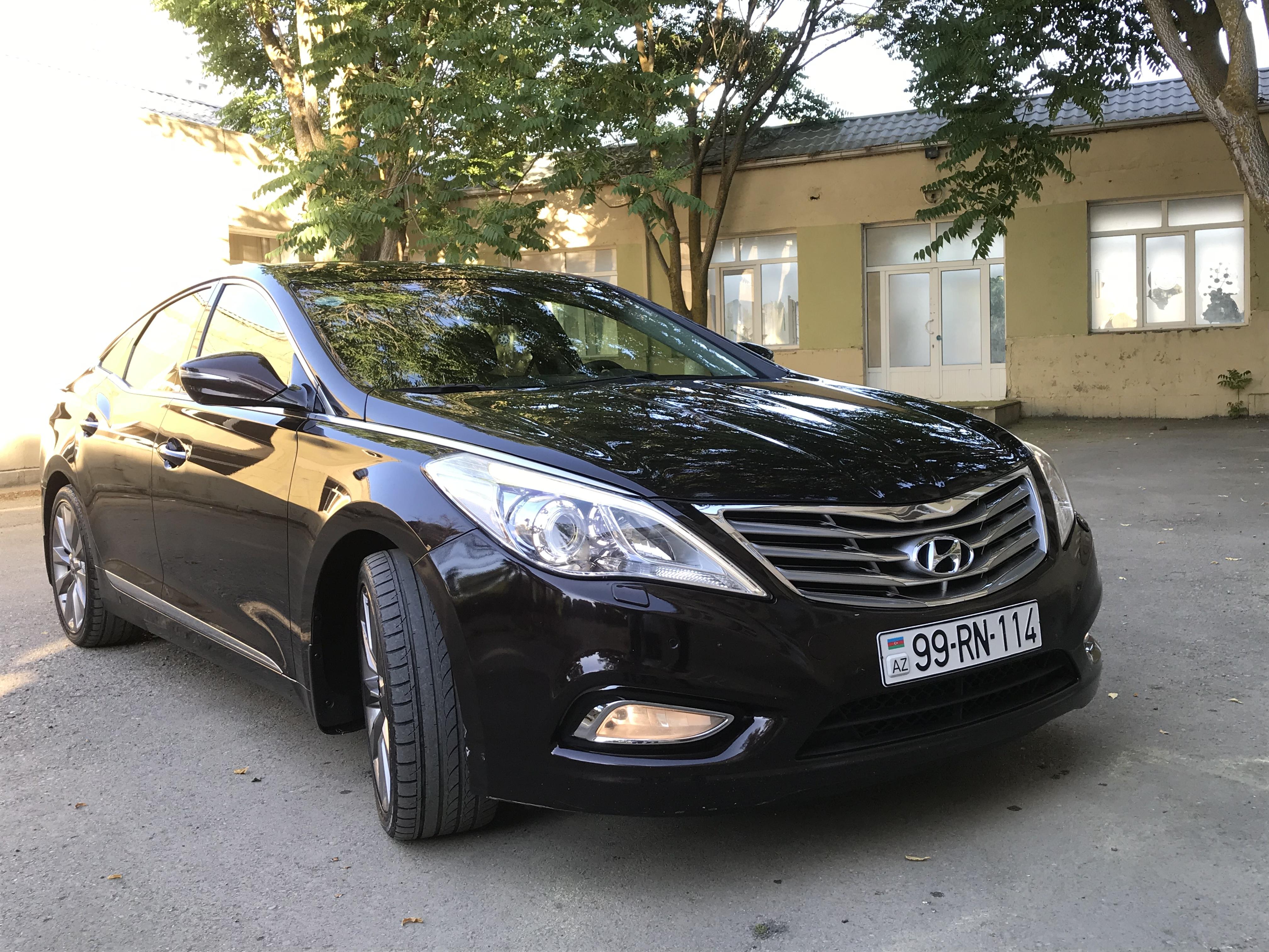 Hyundai Grandeur/Azera 3.0(lt) 2013 İkinci əl  $21800