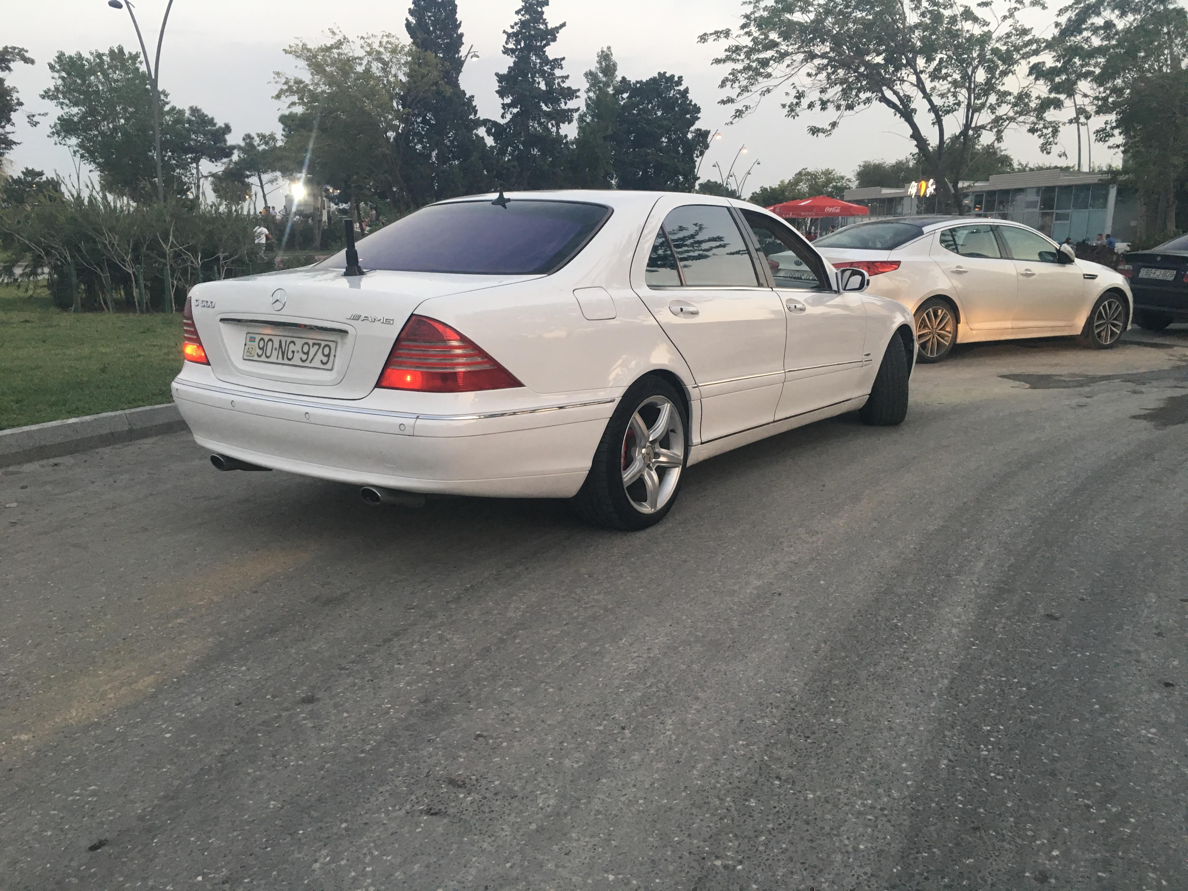 Mercedes-Benz S 320 3.2(lt) 2000 İkinci əl  $7800