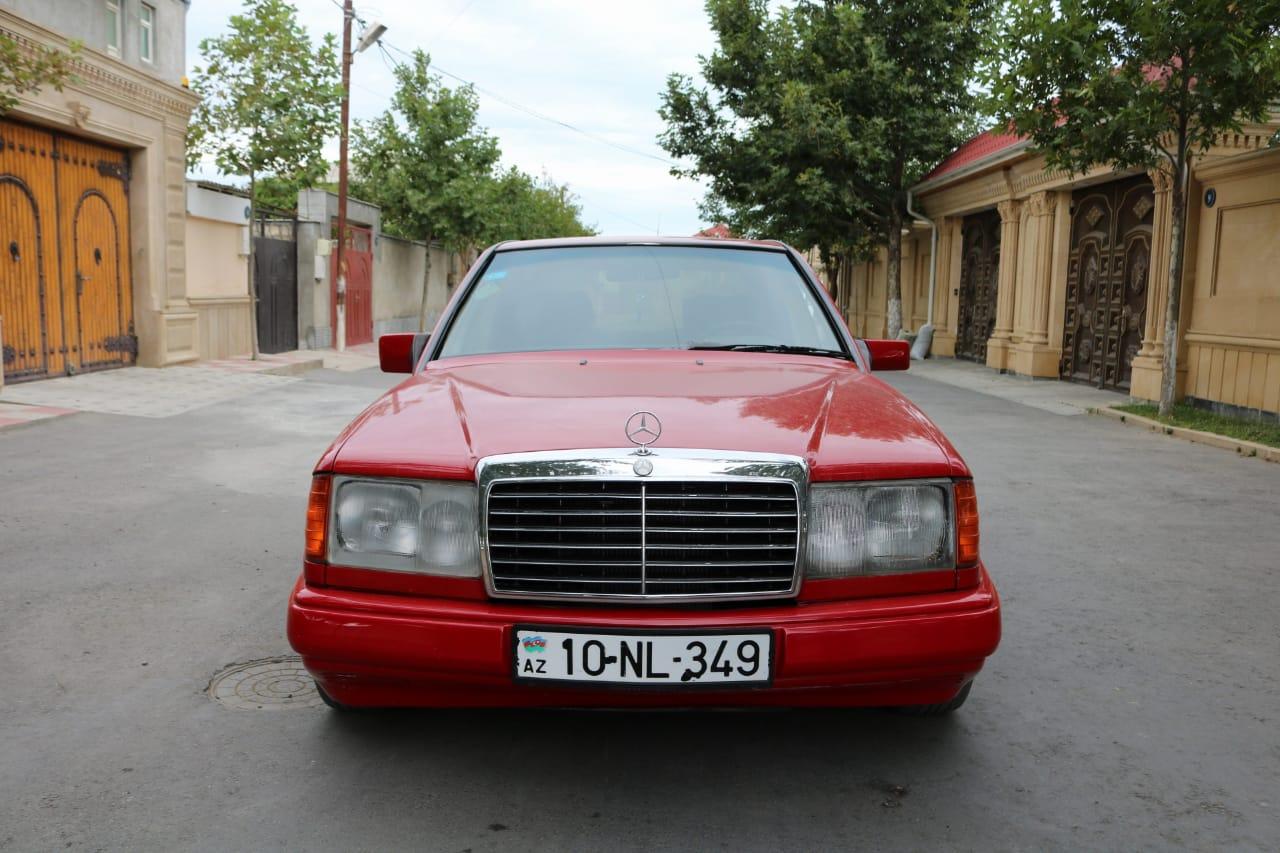 Mercedes-Benz E 230 2.3(lt) 1987 İkinci əl  $5300