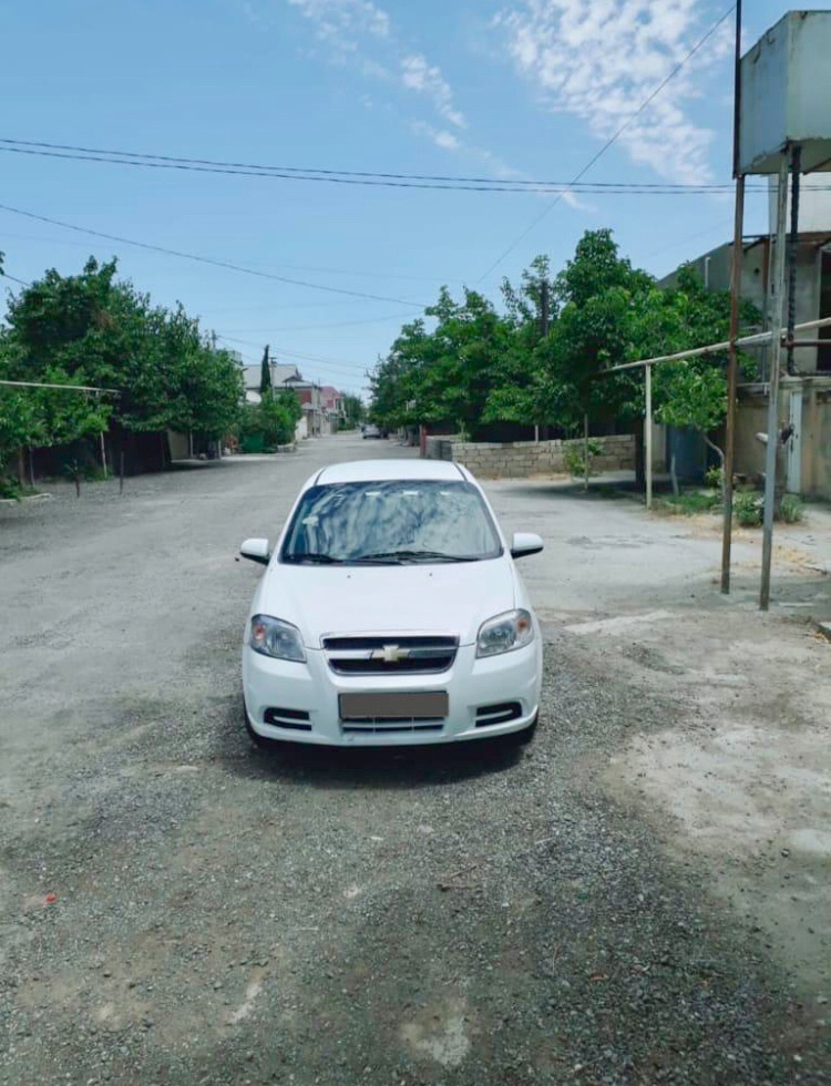 Chevrolet Aveo 1.4(lt) 2011 İkinci əl  $8800