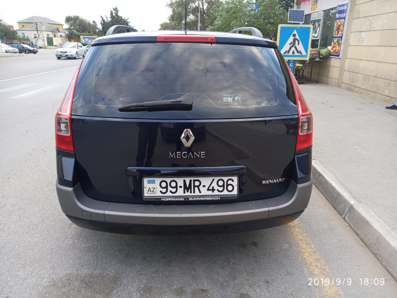 Renault Megane 1.5(lt) 2007 İkinci əl  $6700