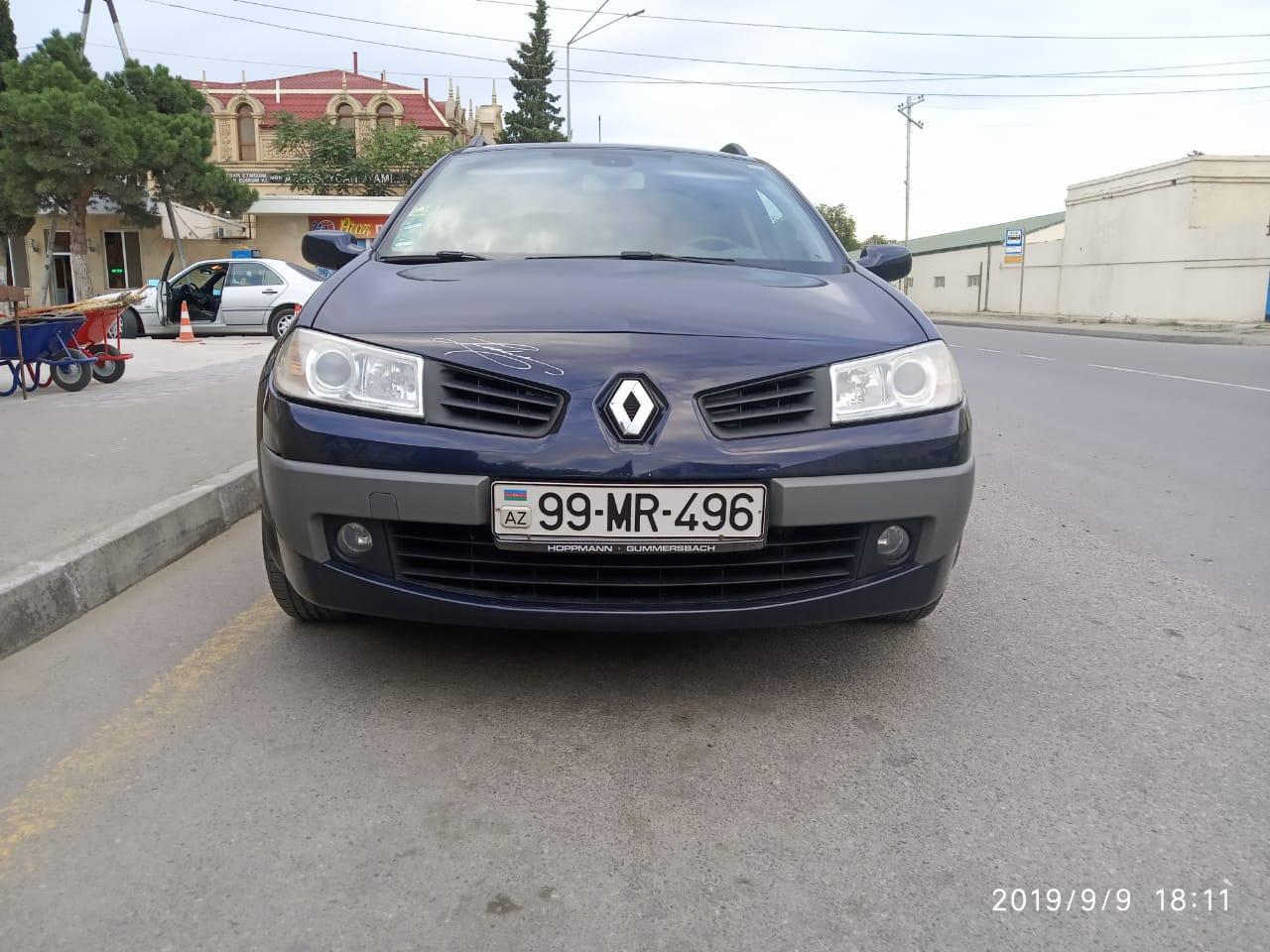 Renault Megane 1.5(lt) 2007 Подержанный  $6700
