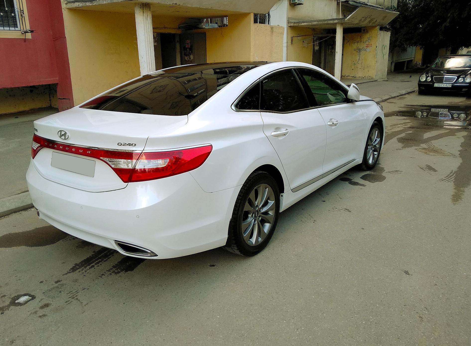 Hyundai Grandeur/Azera 2.4(lt) 2012 Подержанный  $17350