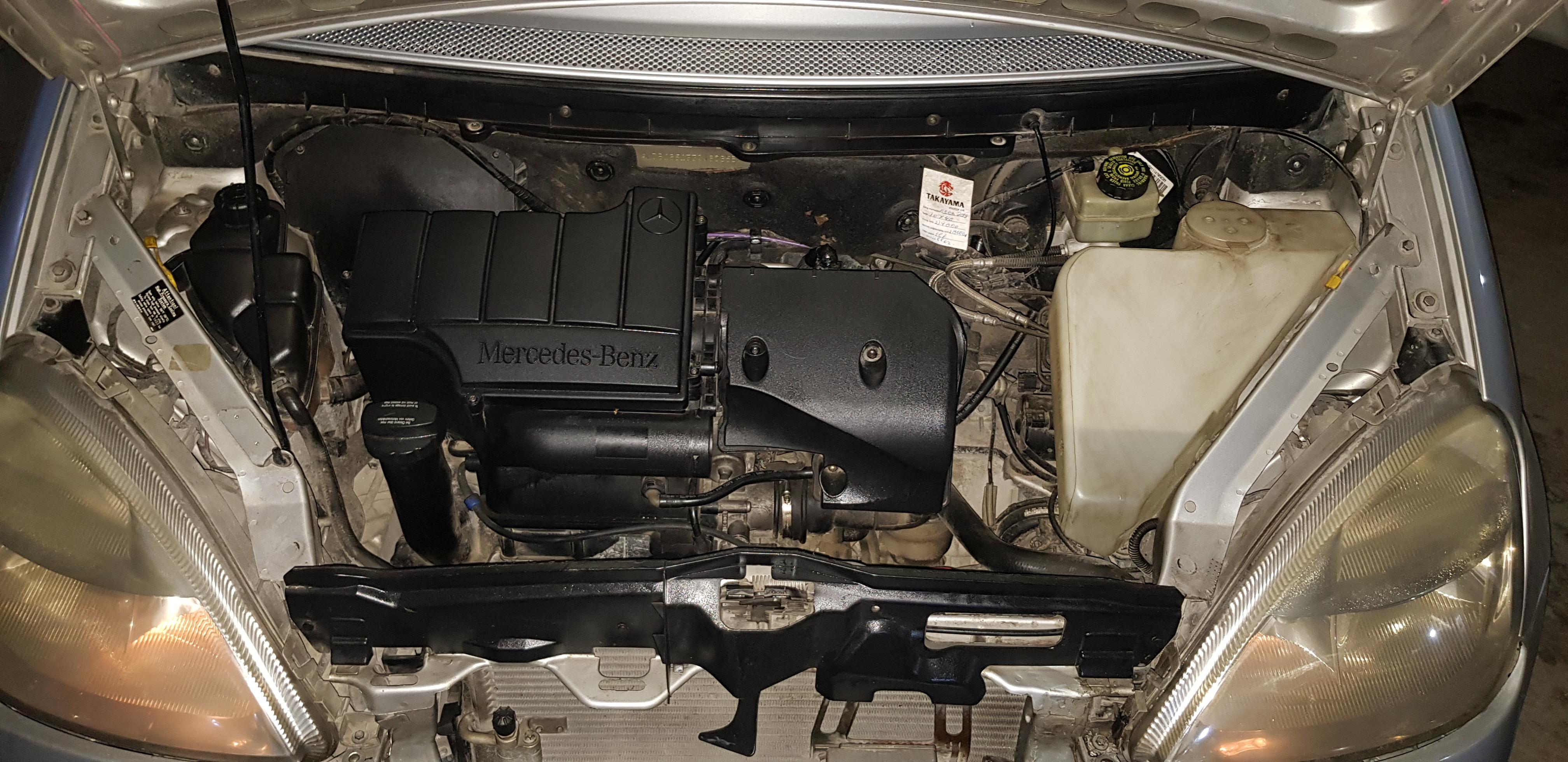 Mercedes-Benz A 160 1.6(lt) 2001 Second hand  $5500