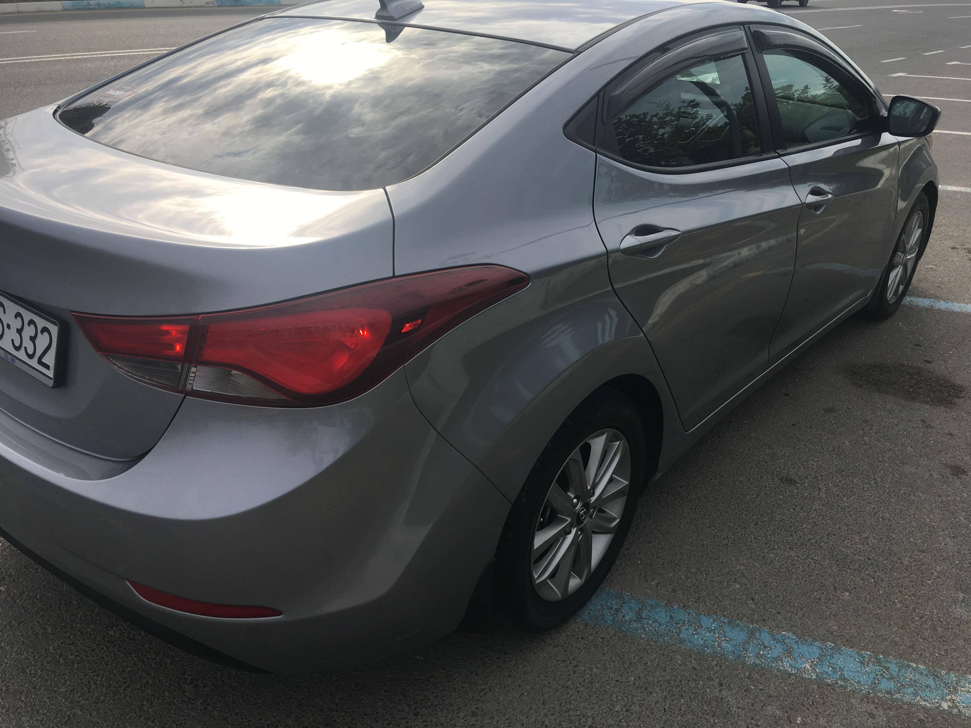 Hyundai Elantra 1.8(lt) 2015 Yeni avtomobil  $11000