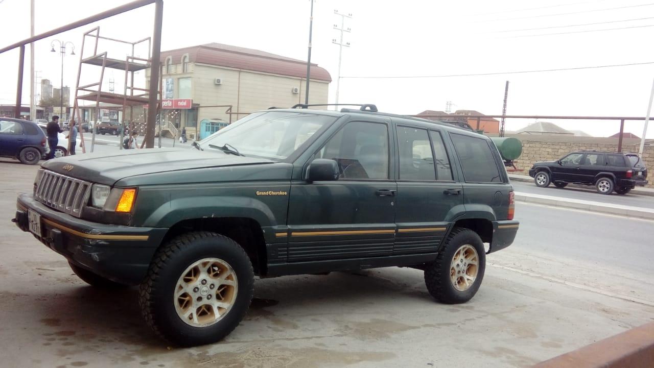 Jeep Grand Cherokee 3.5(lt) 1994 Подержанный  $3500