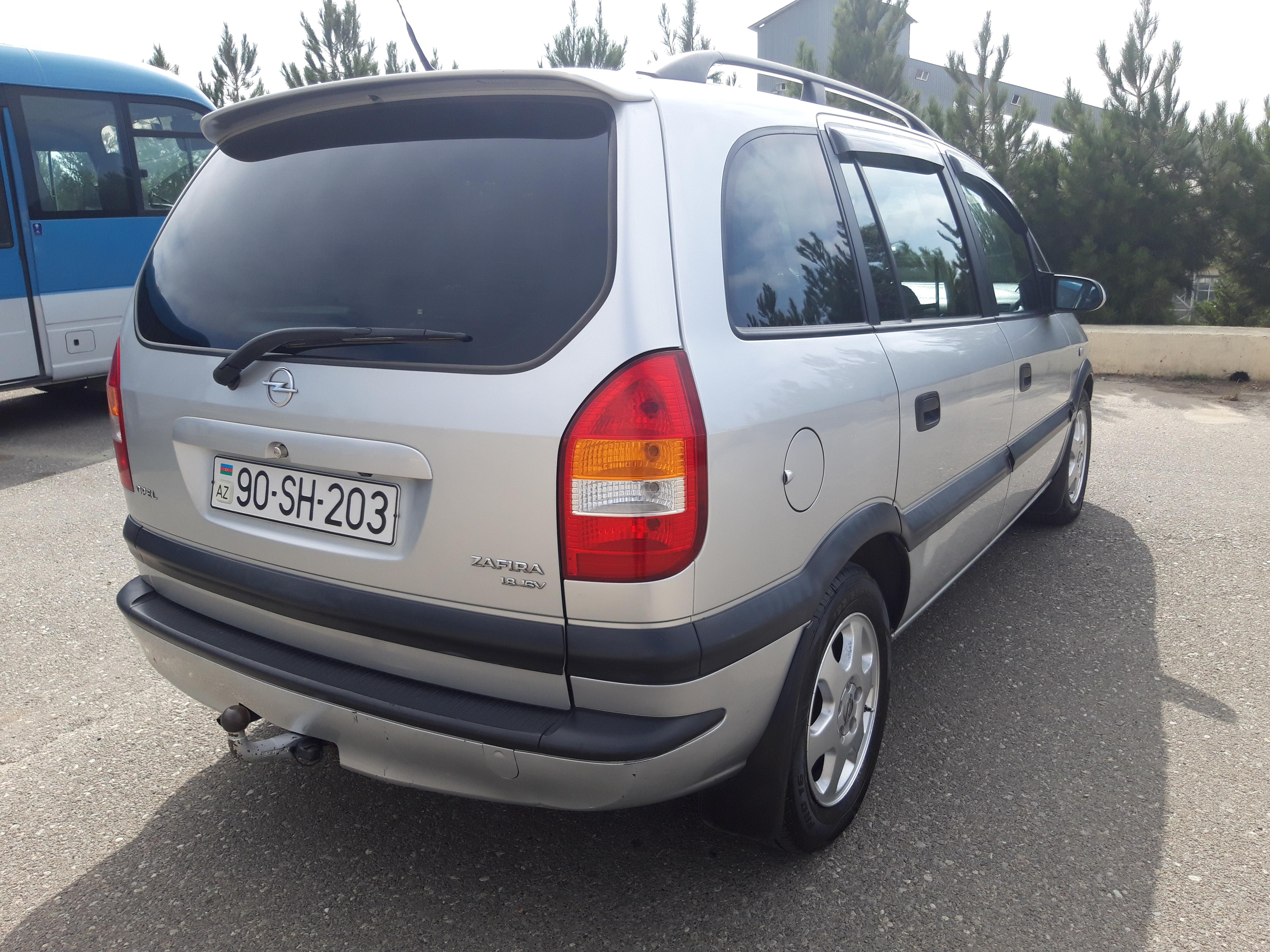 Opel Zafira 1.8(lt) 1999 Second hand  $6300