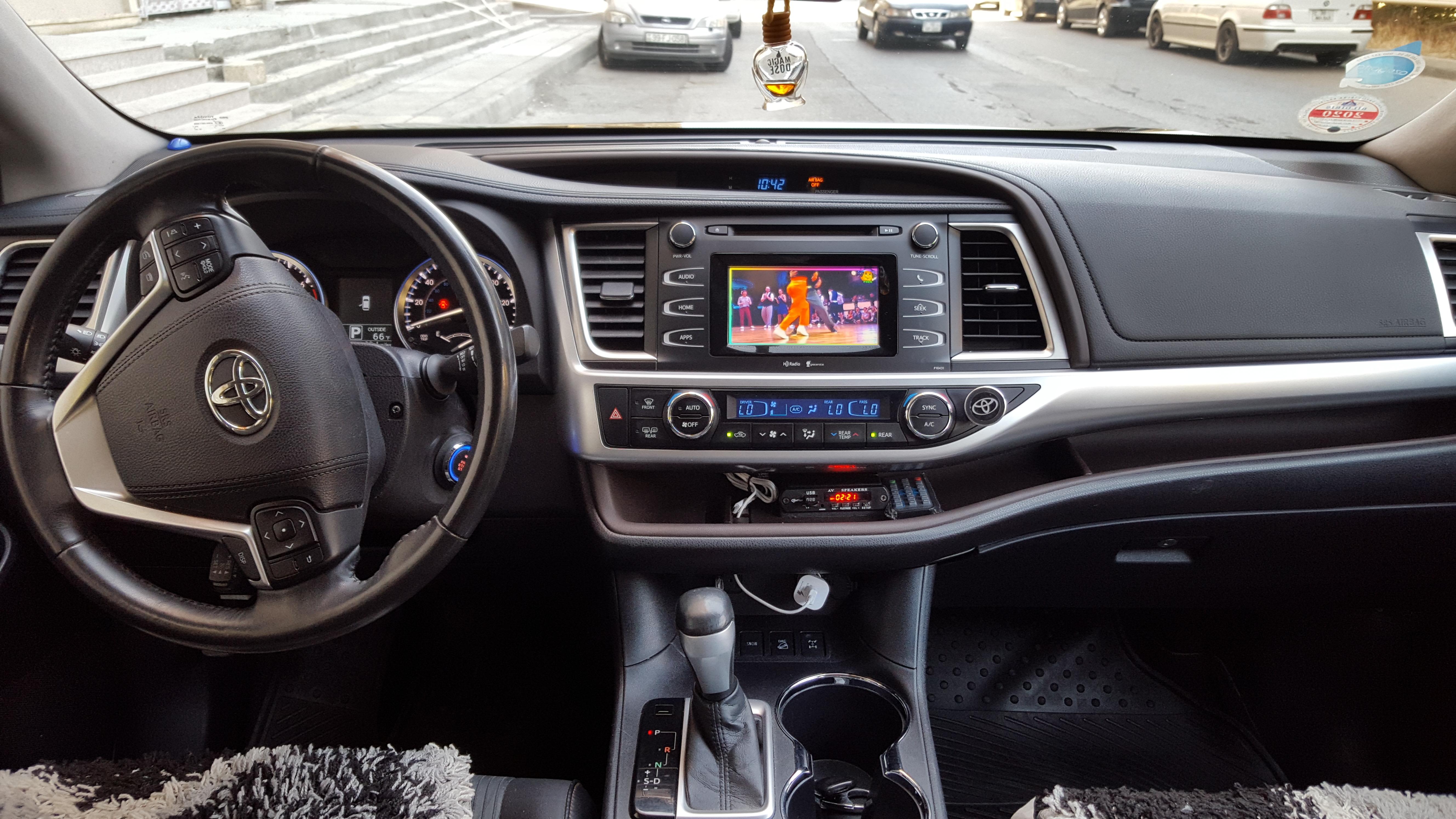 Toyota Highlander 3.5(lt) 2015 İkinci əl  $32500