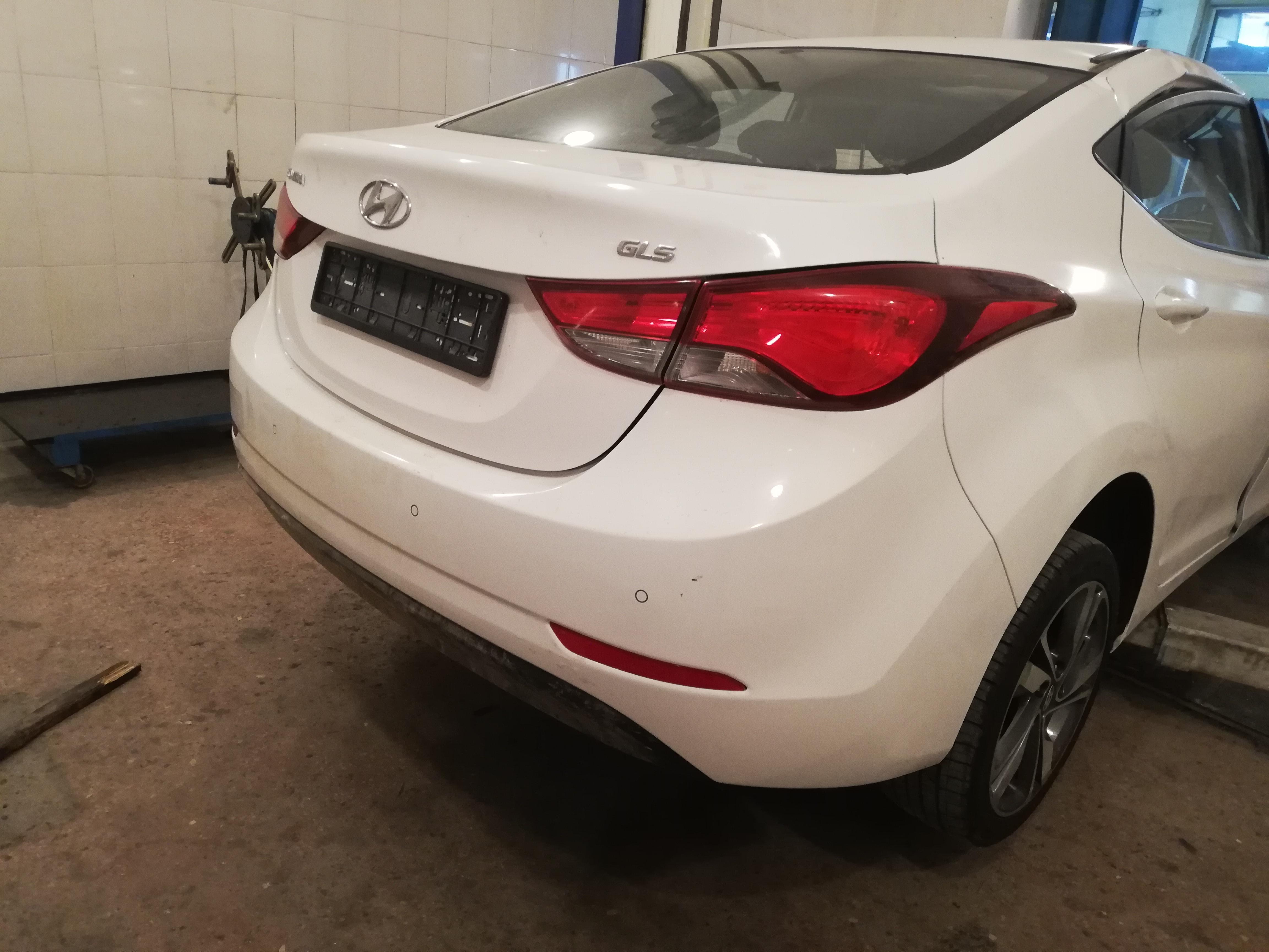 Hyundai Elantra 1.8(lt) 2014 Second hand  $13700
