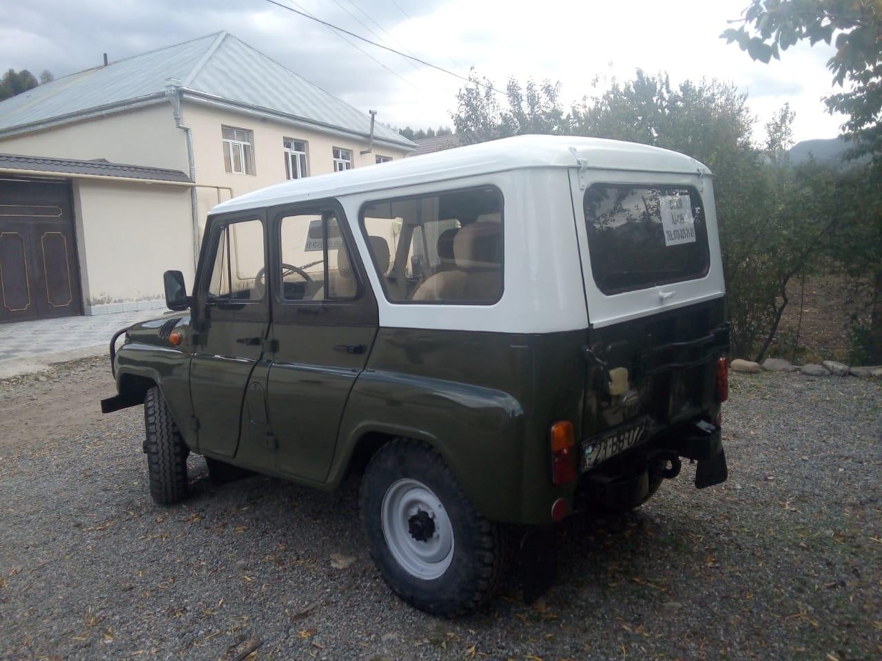 UAZ 469 2.4(lt) 1998 Подержанный  $5000