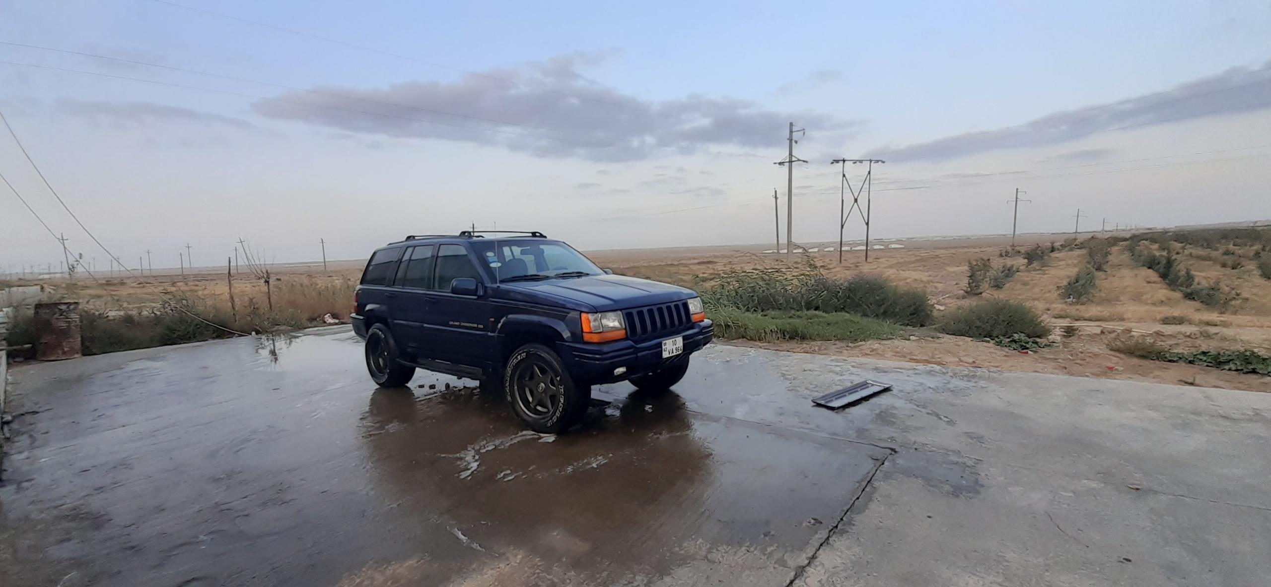 Jeep Grand Cherokee 4.0(lt) 1996 Подержанный  $7000