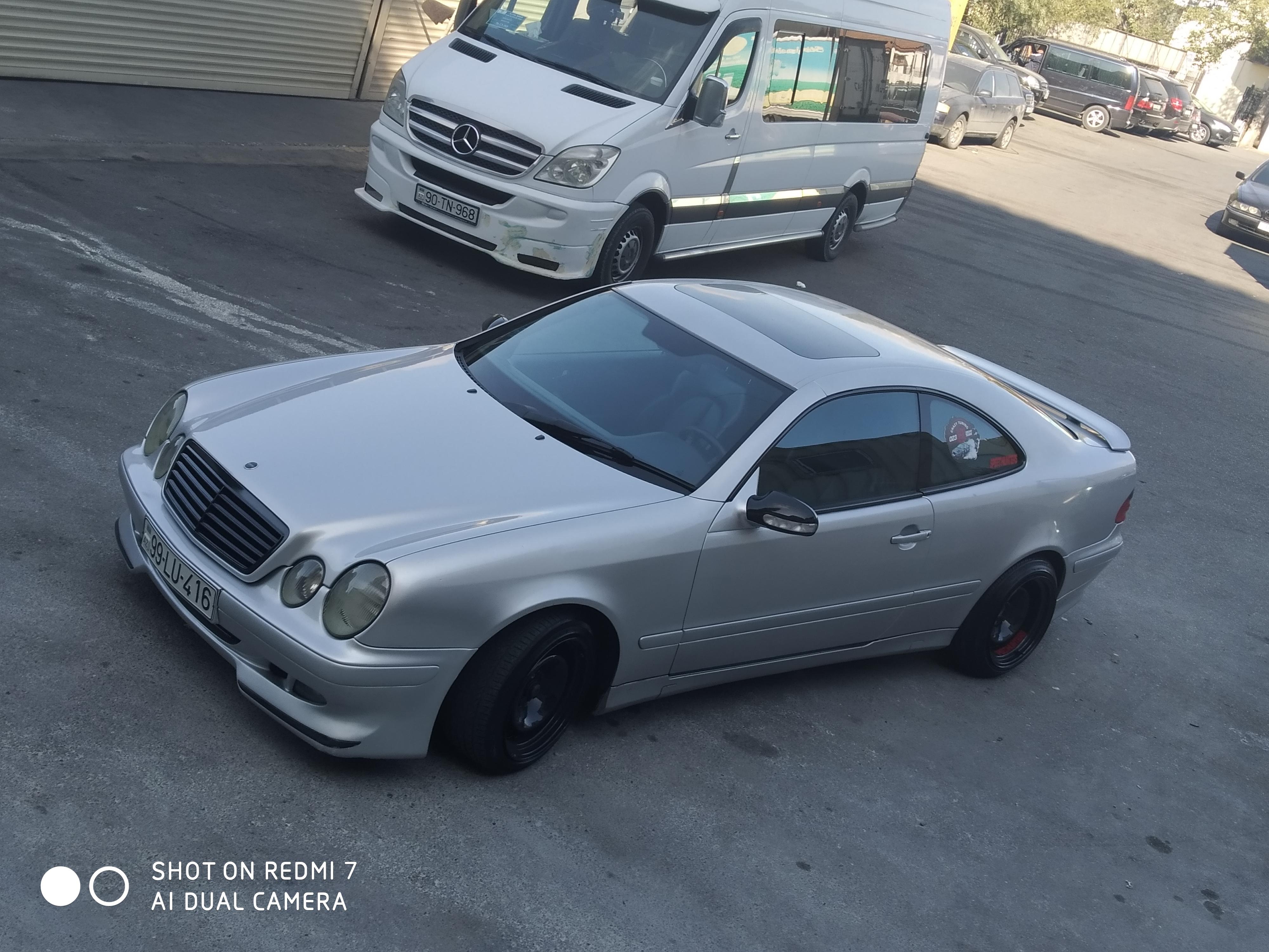 Mercedes-Benz CLK 230 2.3(lt) 2000 Second hand  $7000
