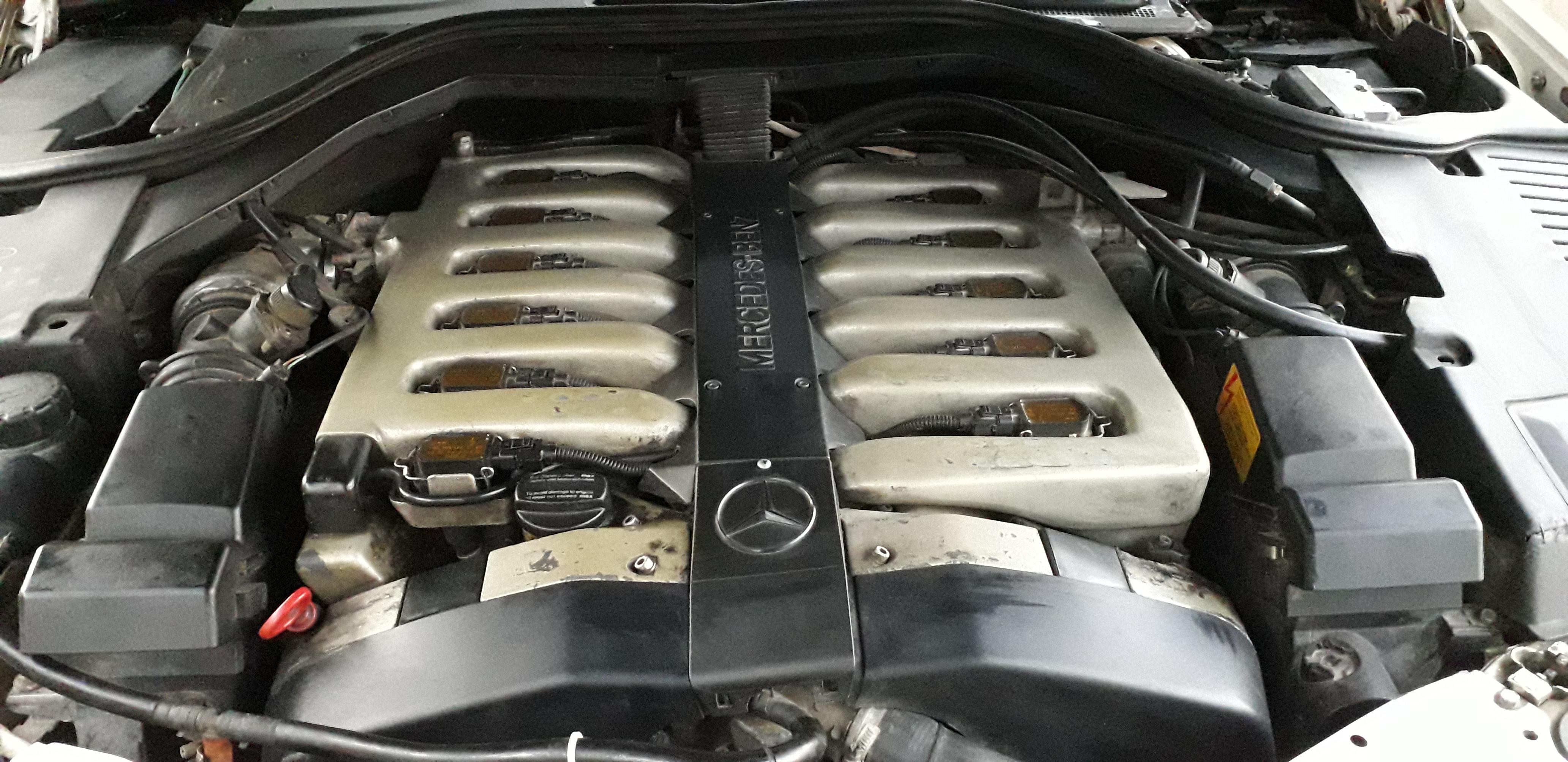 Mercedes-Benz 600 SEL 6.0(lt) 1996 Подержанный  $10500