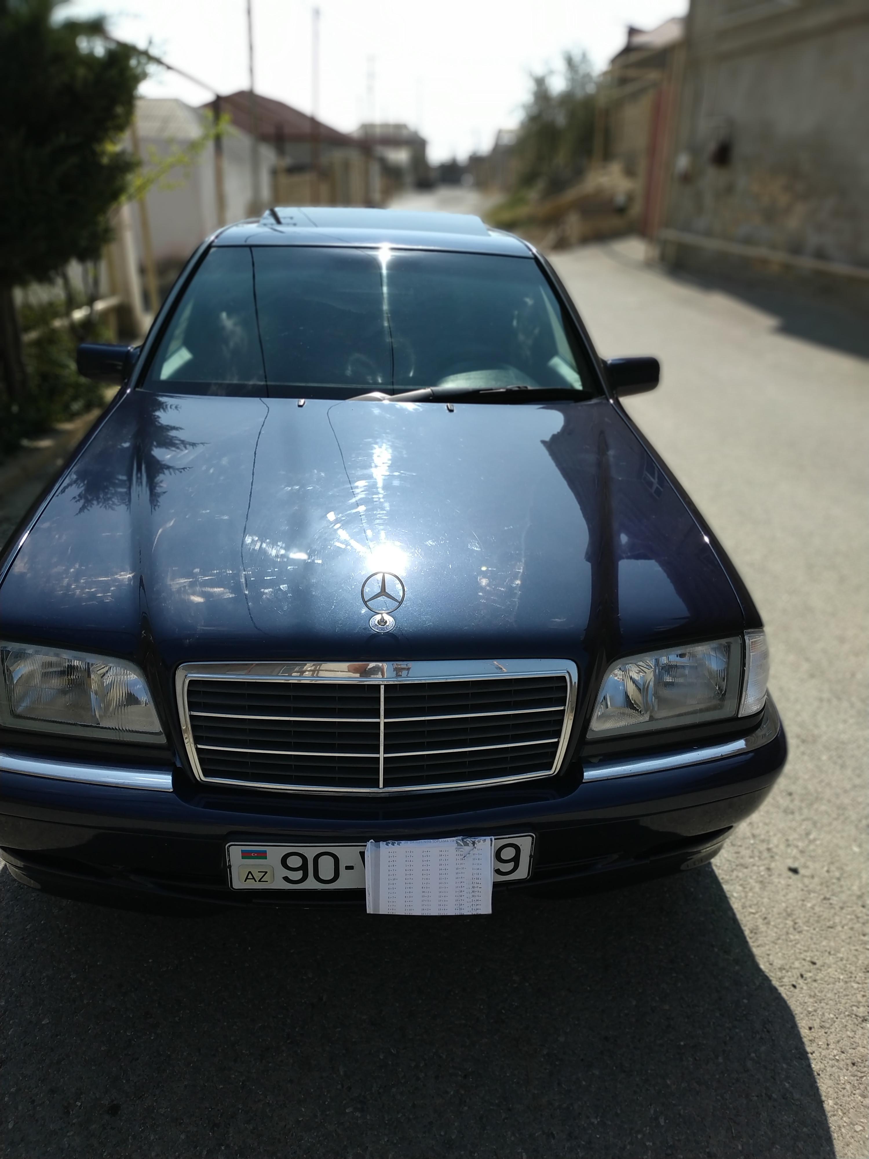 Mercedes-Benz C 180 1.8(lt) 1997 Подержанный  $6400