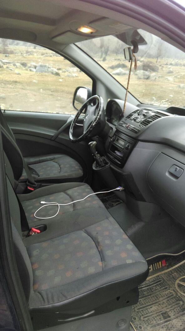 Mercedes-Benz Vito 2.2(lt) 2008 Second hand  $24800