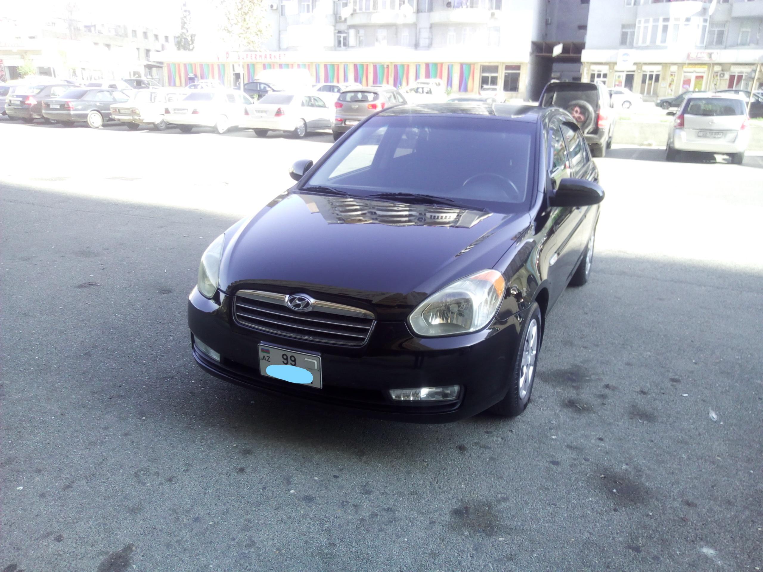 Hyundai Accent 1.4(lt) 2009 Подержанный  $7200