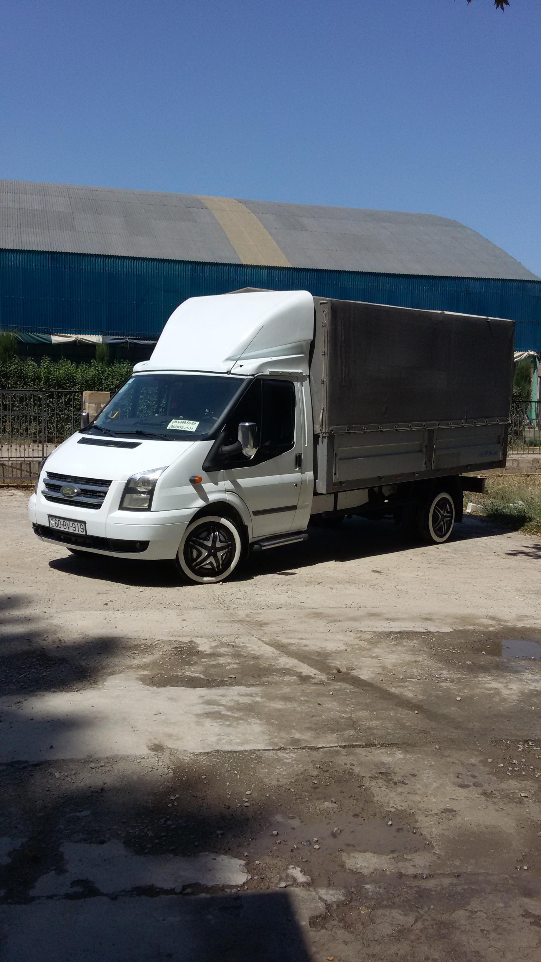 Ford Transit 2.4(lt) 2007 Подержанный  $23000