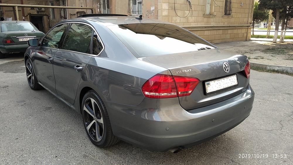 Volkswagen Passat 1.8(lt) 2013 Подержанный  $12800