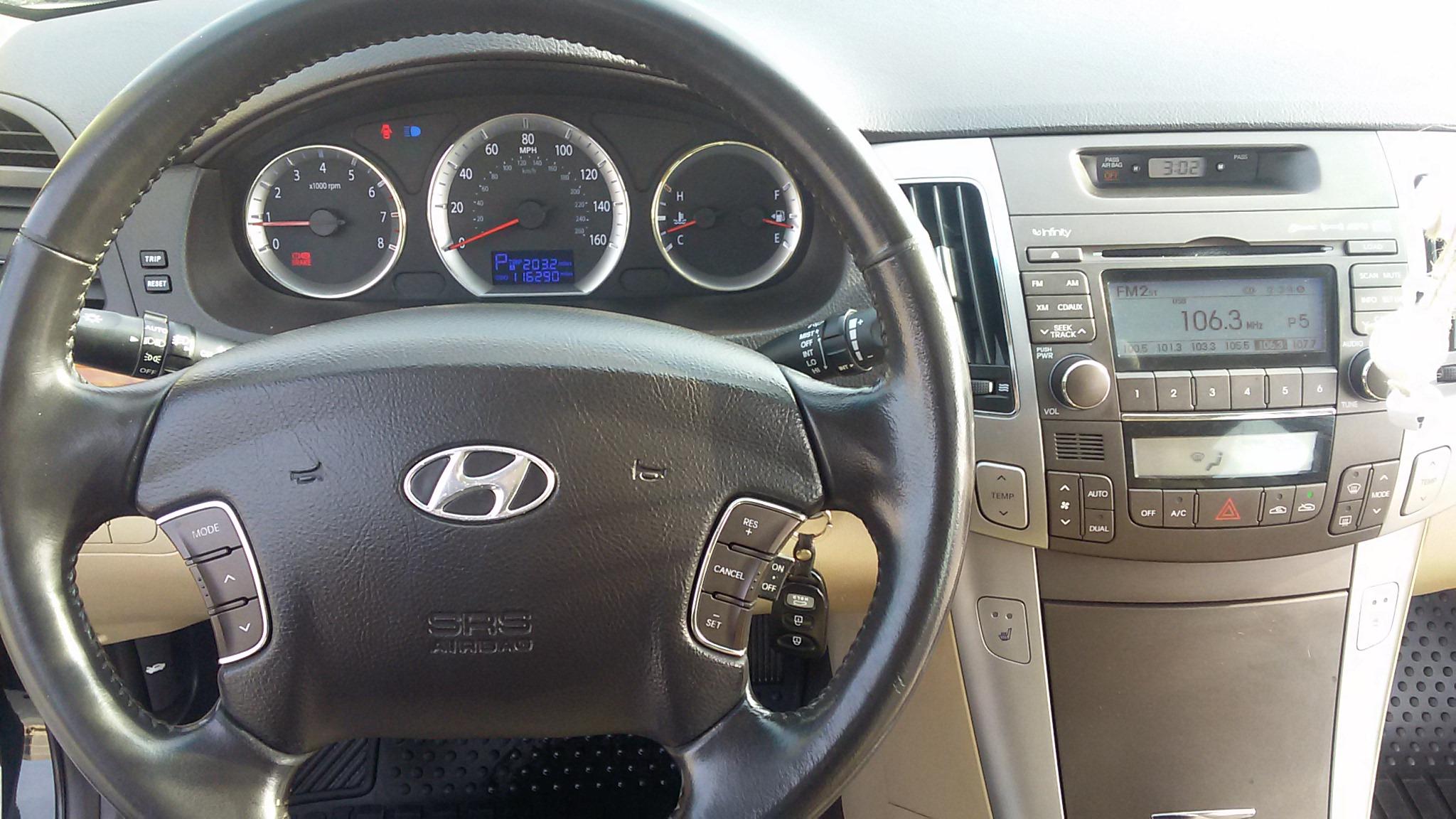 Hyundai Sonata 2.4(lt) 2008 Подержанный  $17600