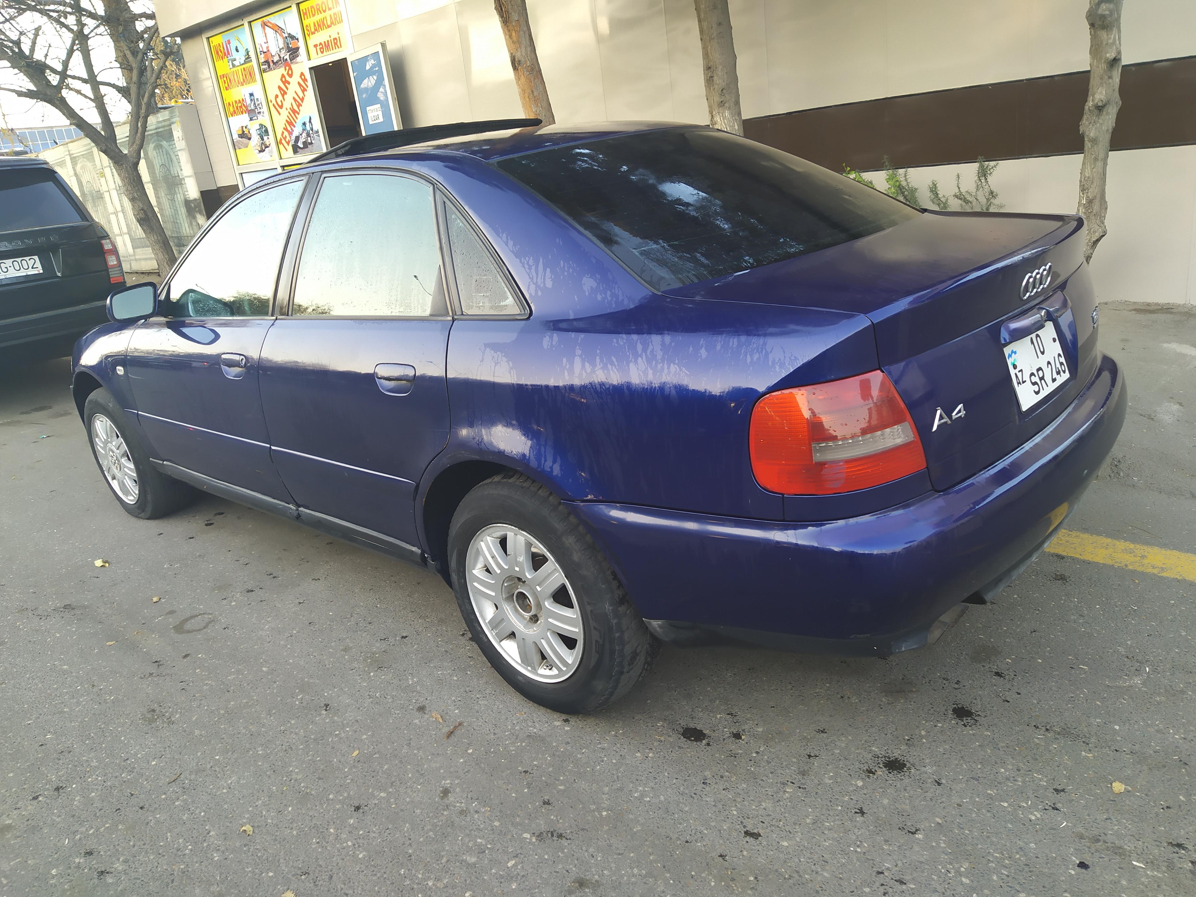 Audi A4 1.8(lt) 1999 Подержанный  $3550