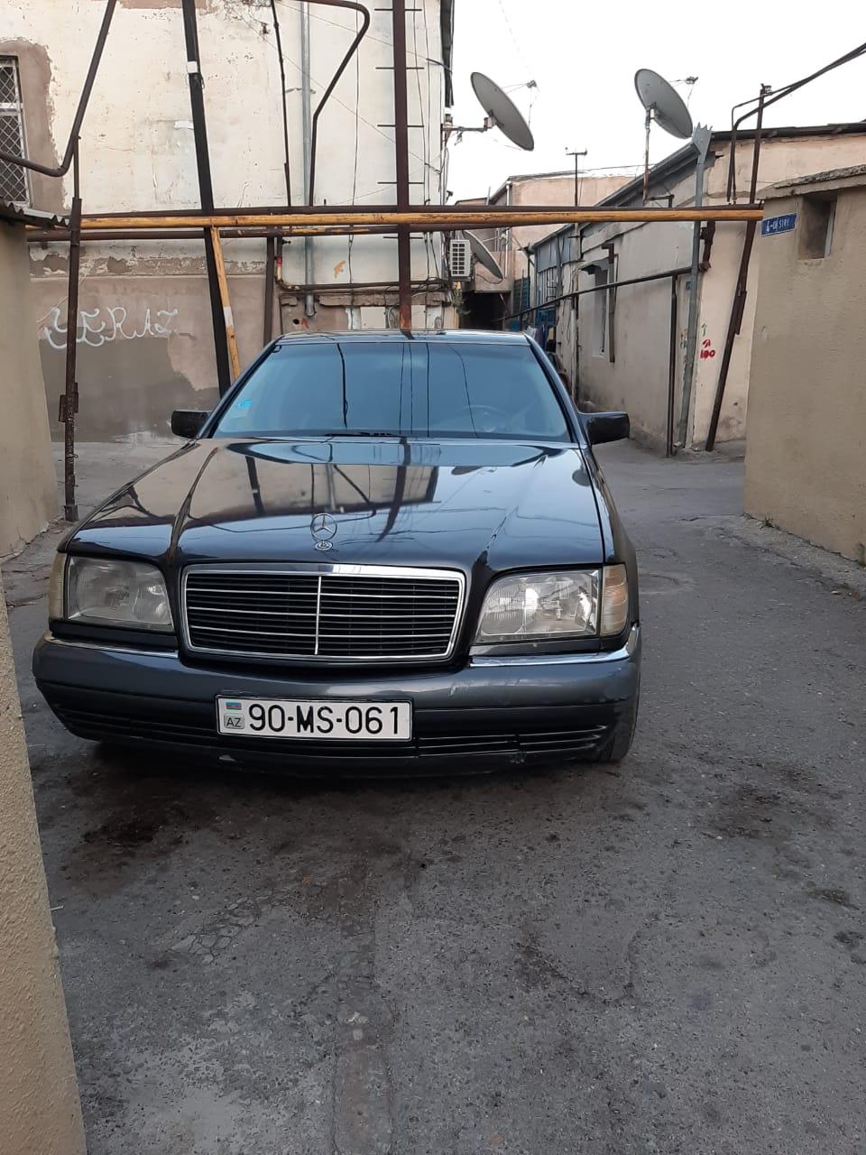 Mercedes-Benz S 320 3.2(lt) 1995 İkinci əl  $5000