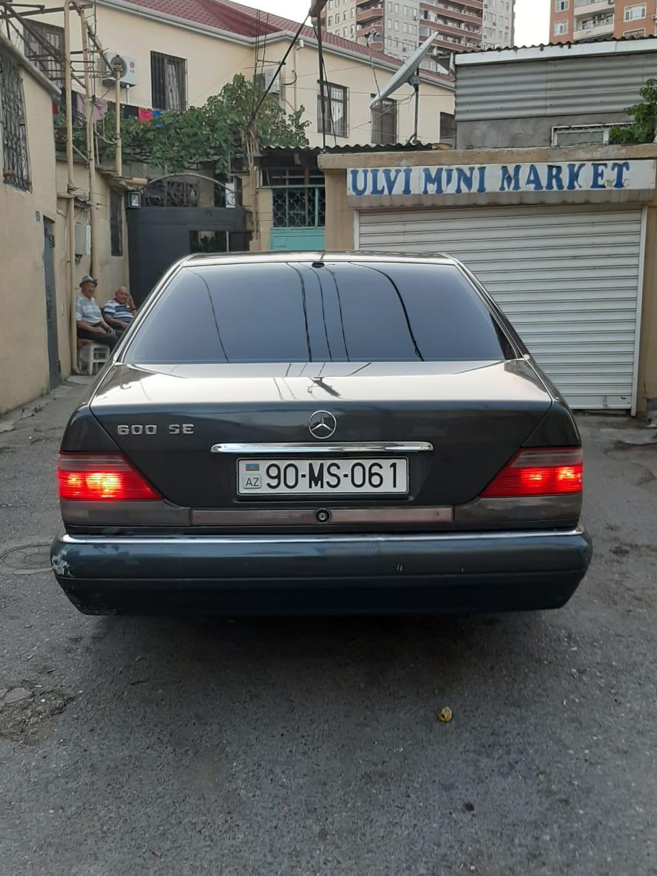 Mercedes-Benz S 320 3.2(lt) 1995 Подержанный  $5000