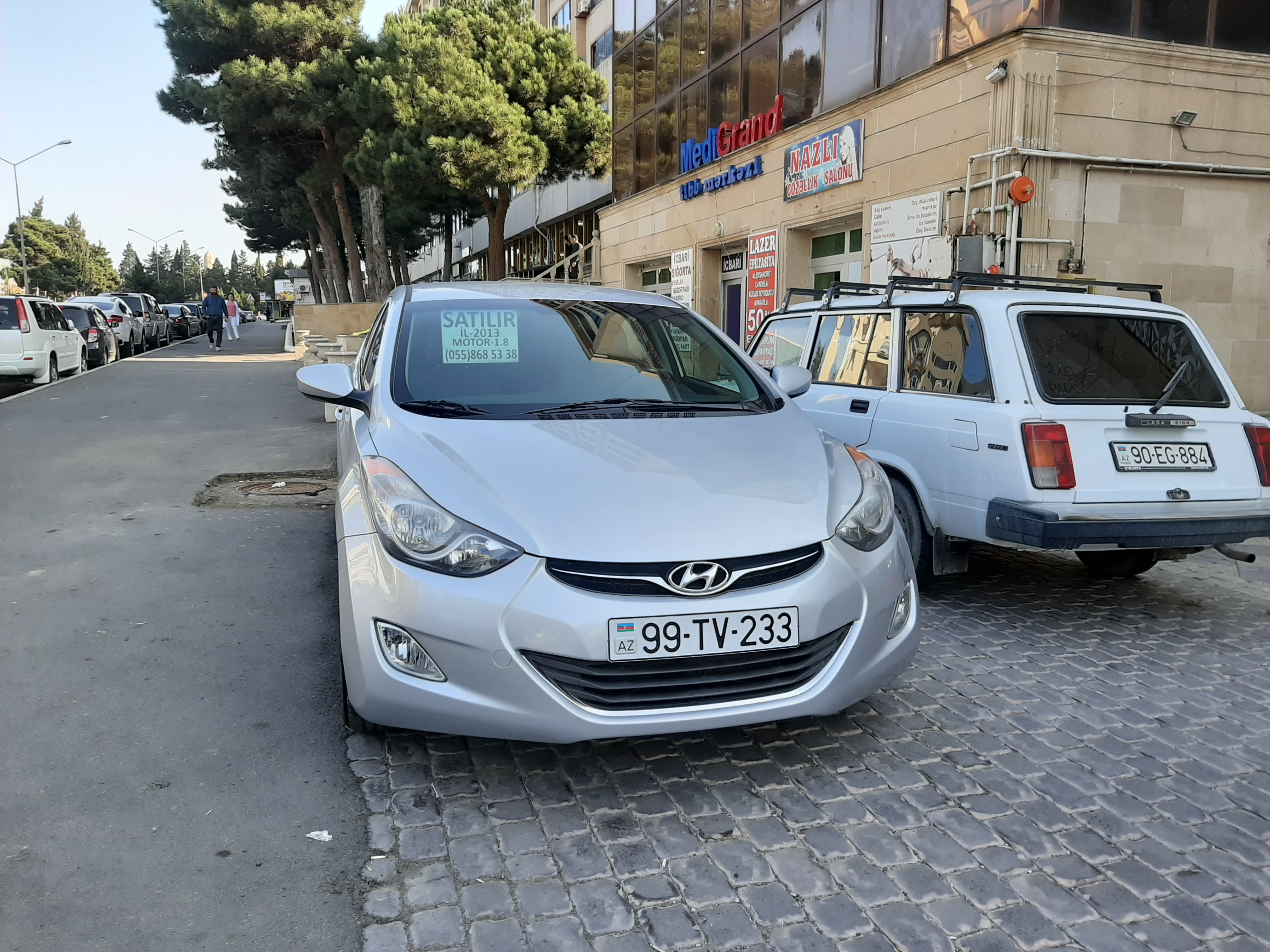 Hyundai Elantra 1.8(lt) 2013 İkinci əl  $11200
