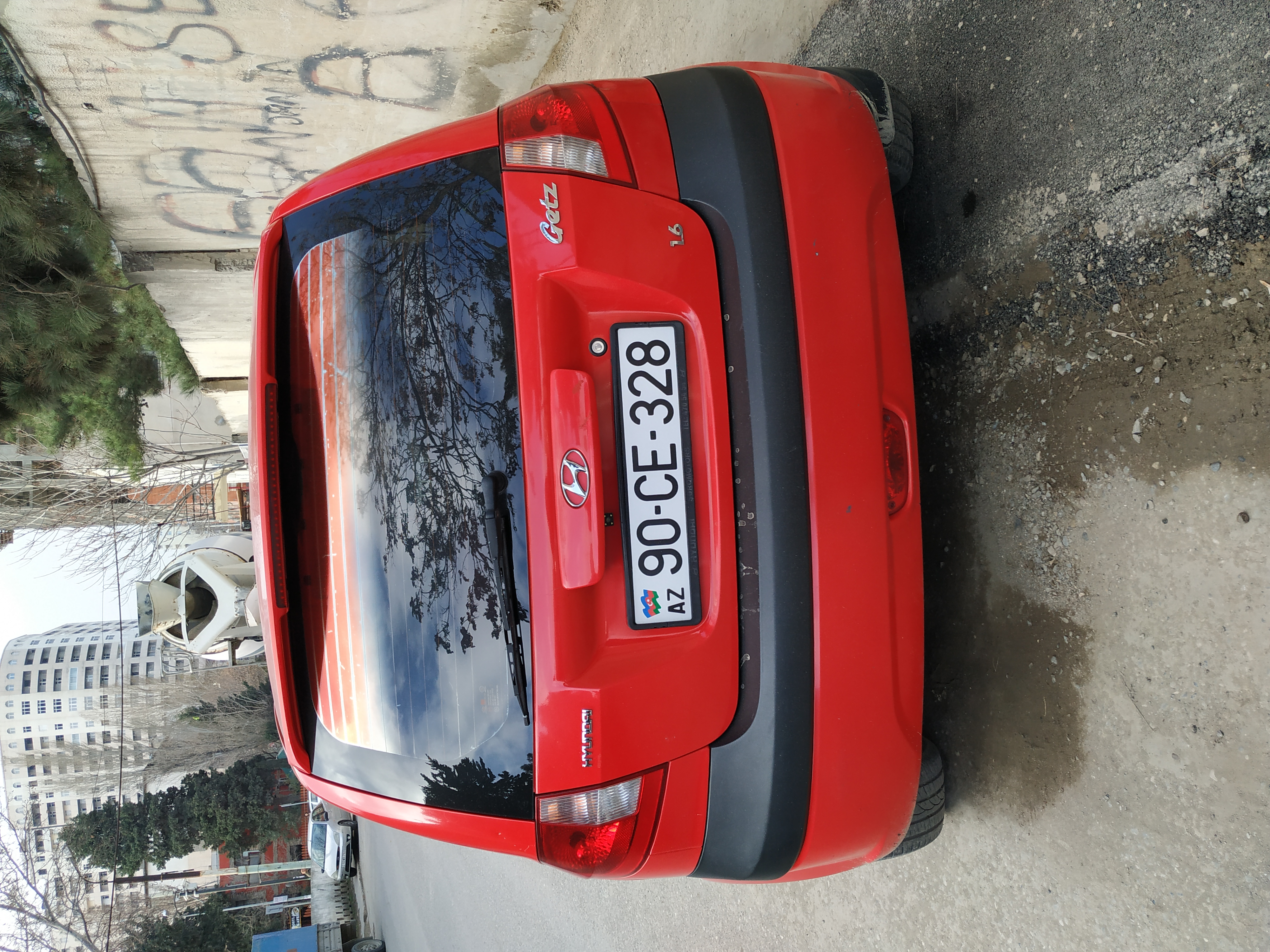 Hyundai Getz 1.6(lt) 2008 Подержанный  $6700