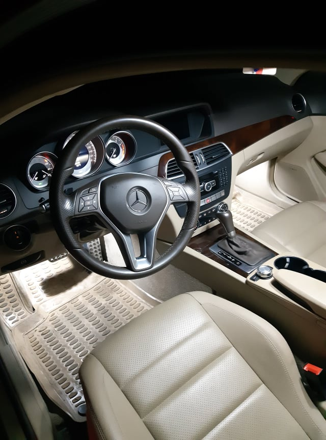 Mercedes-Benz C 250 1.8(lt) 2014 New car  $12700