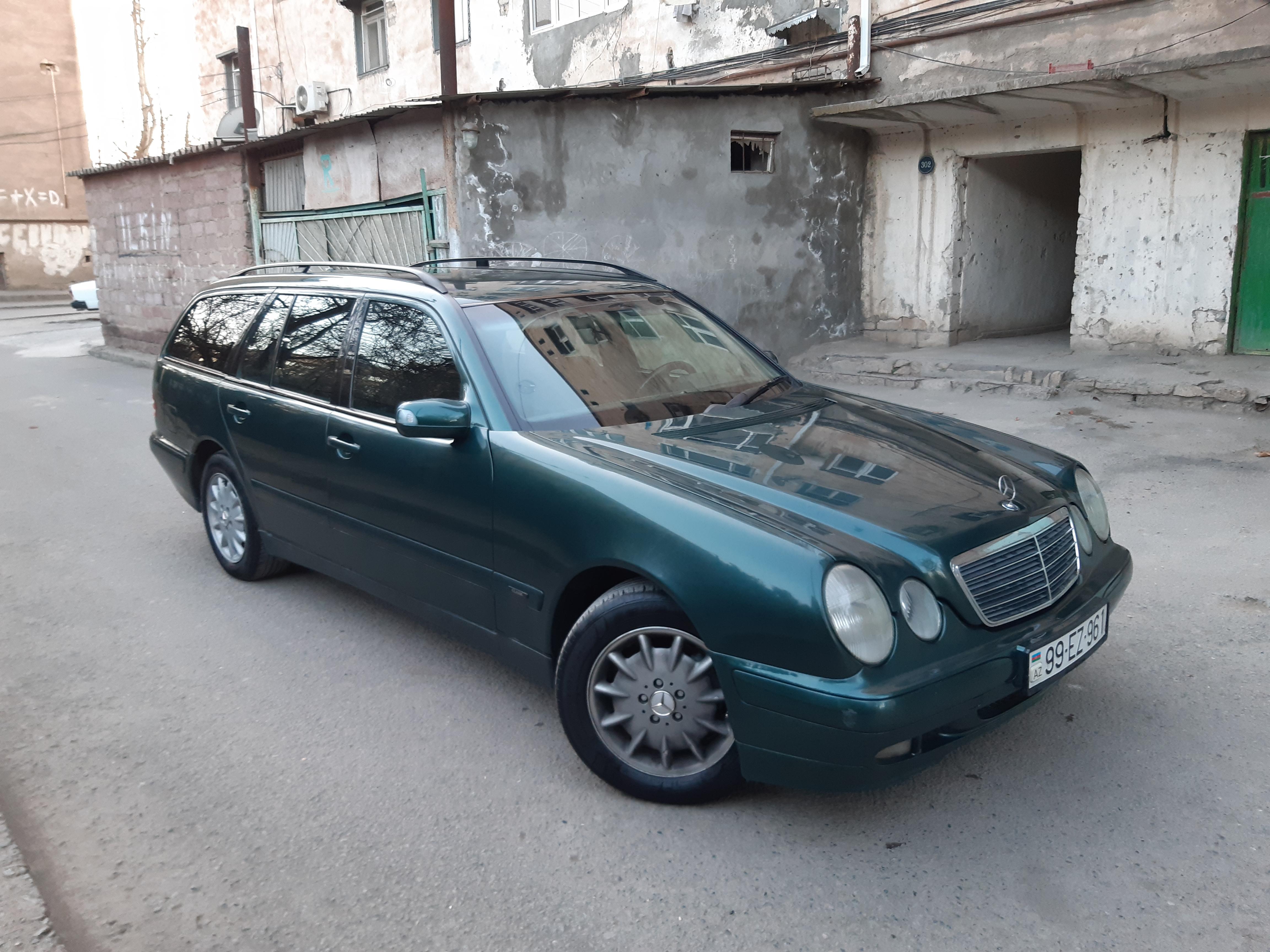 Mercedes-Benz E 220 2.2(lt) 2000 Подержанный  $8200