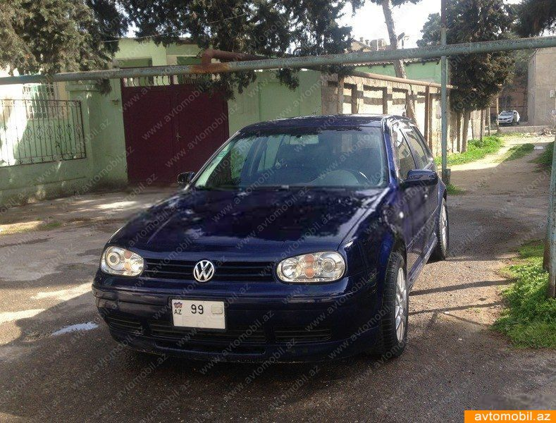 Volkswagen Golf 2.0(lt) 2002 Подержанный  $5250