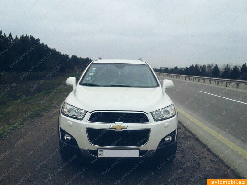 Chevrolet Captiva 2.4(lt) 2012 Second hand  $16870